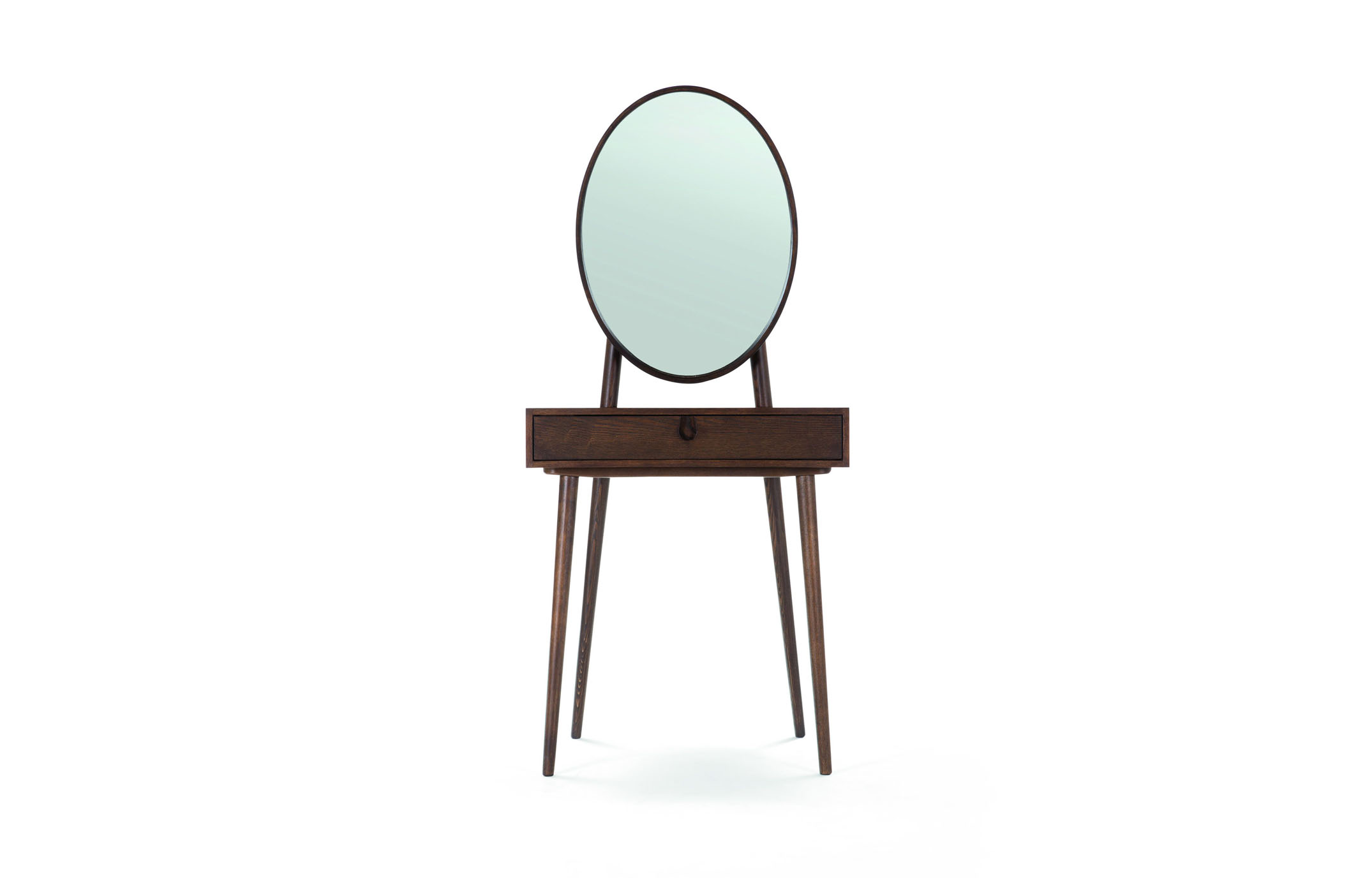 Penn Dressing Table with Mirror, Made