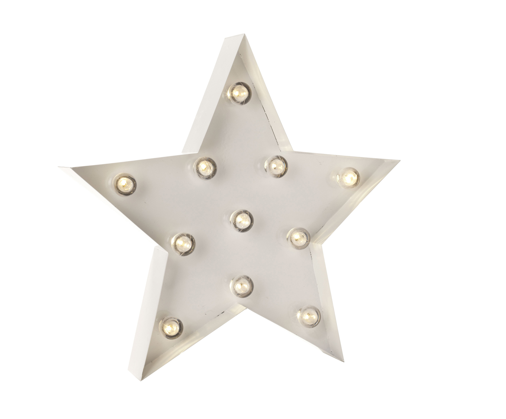 Linea Medium Light Up Star, £25, House of Fraser