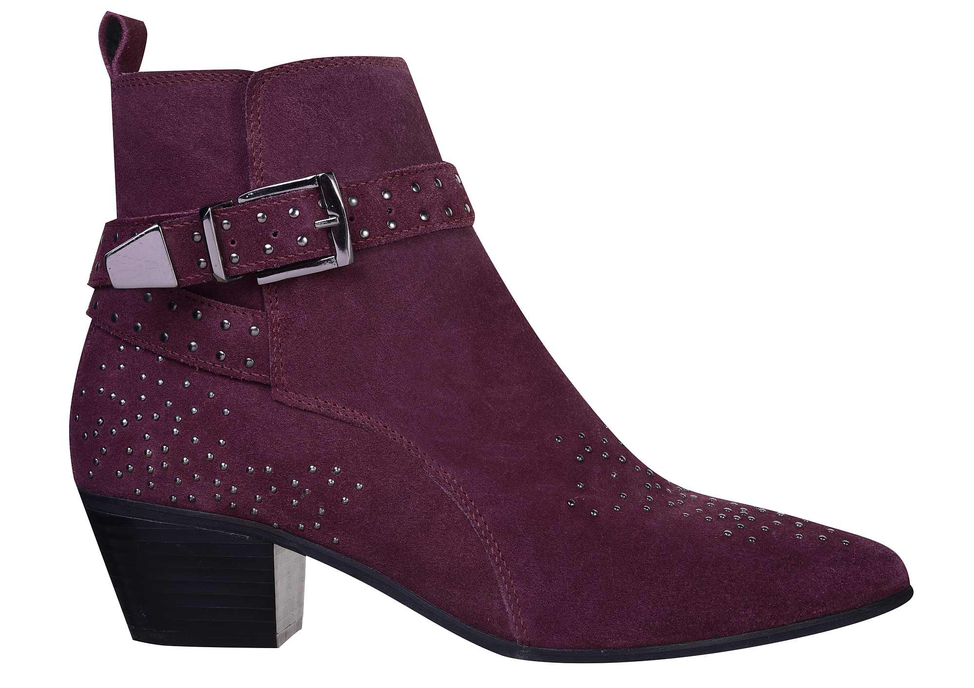 Nine by Savannah Miller Dark Red Samara Boots