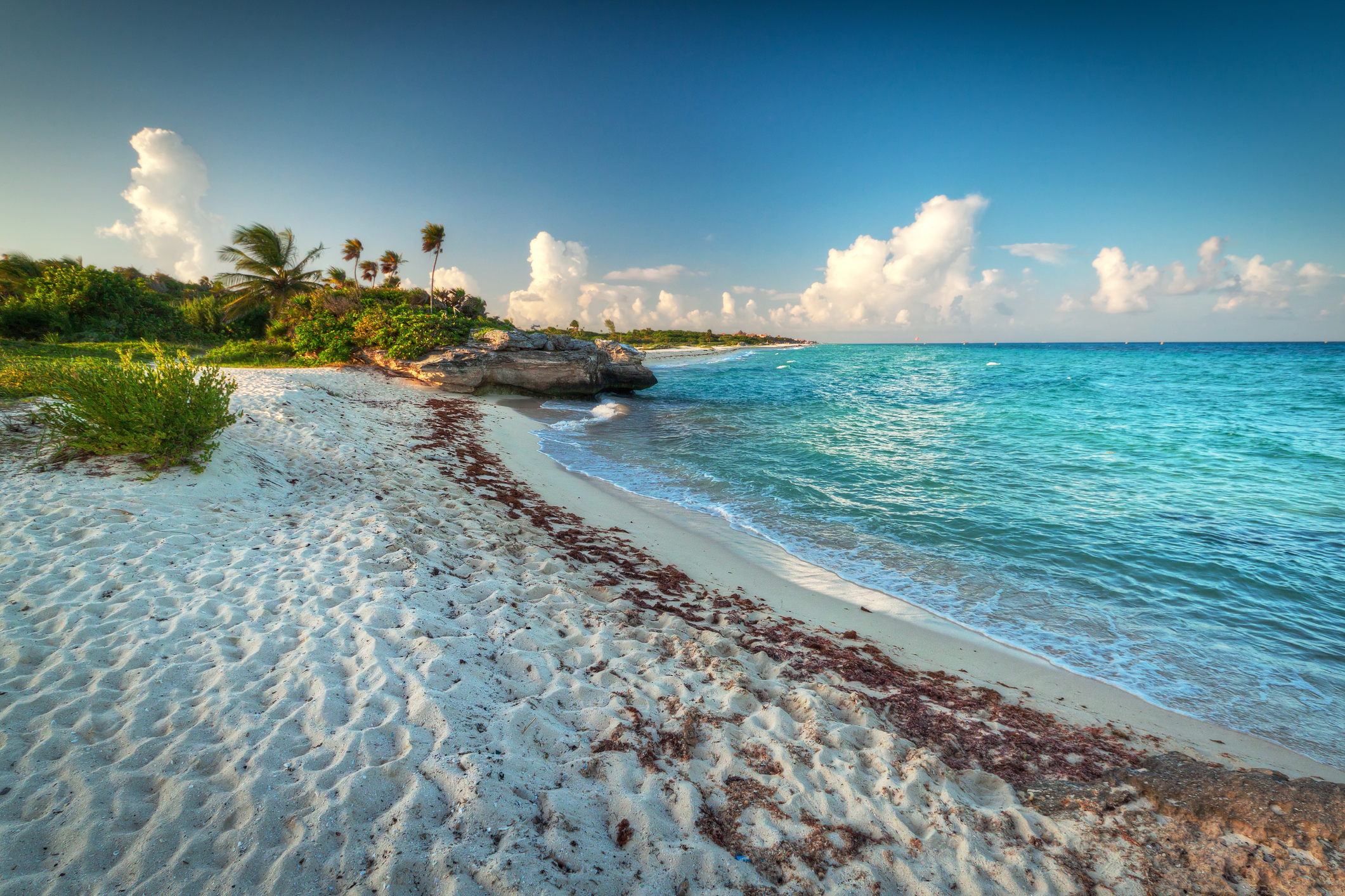 A beach in the Playa del Carmen region (Thinkstock/PA)