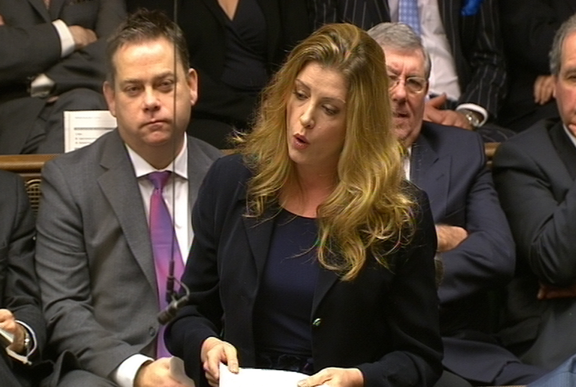 Penny Mordaunt in Parliament