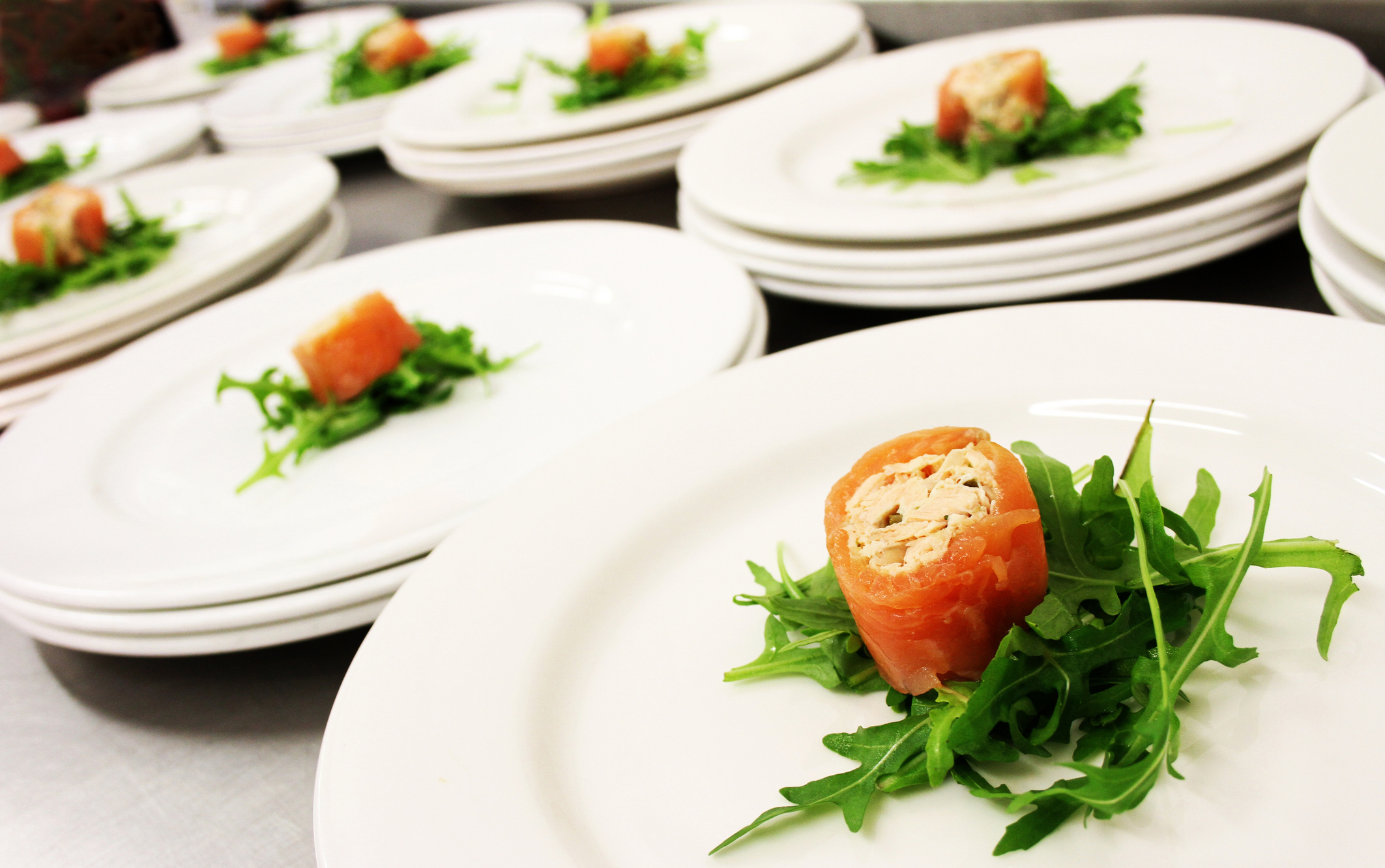 smoked salmon roulade (Thinkstock/PA)