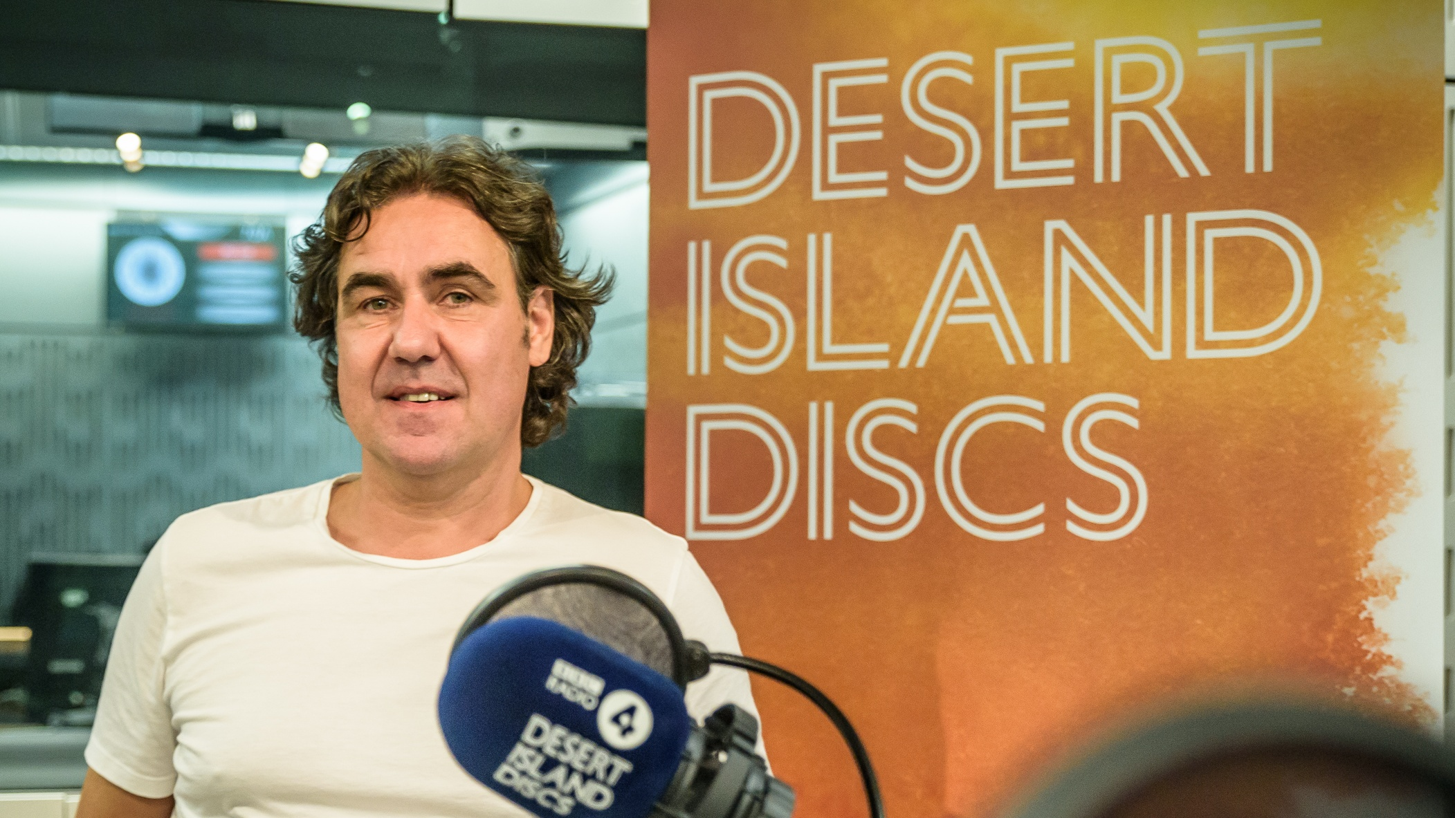 Comedian Micky Flanagan appearing on Desert Island Discs