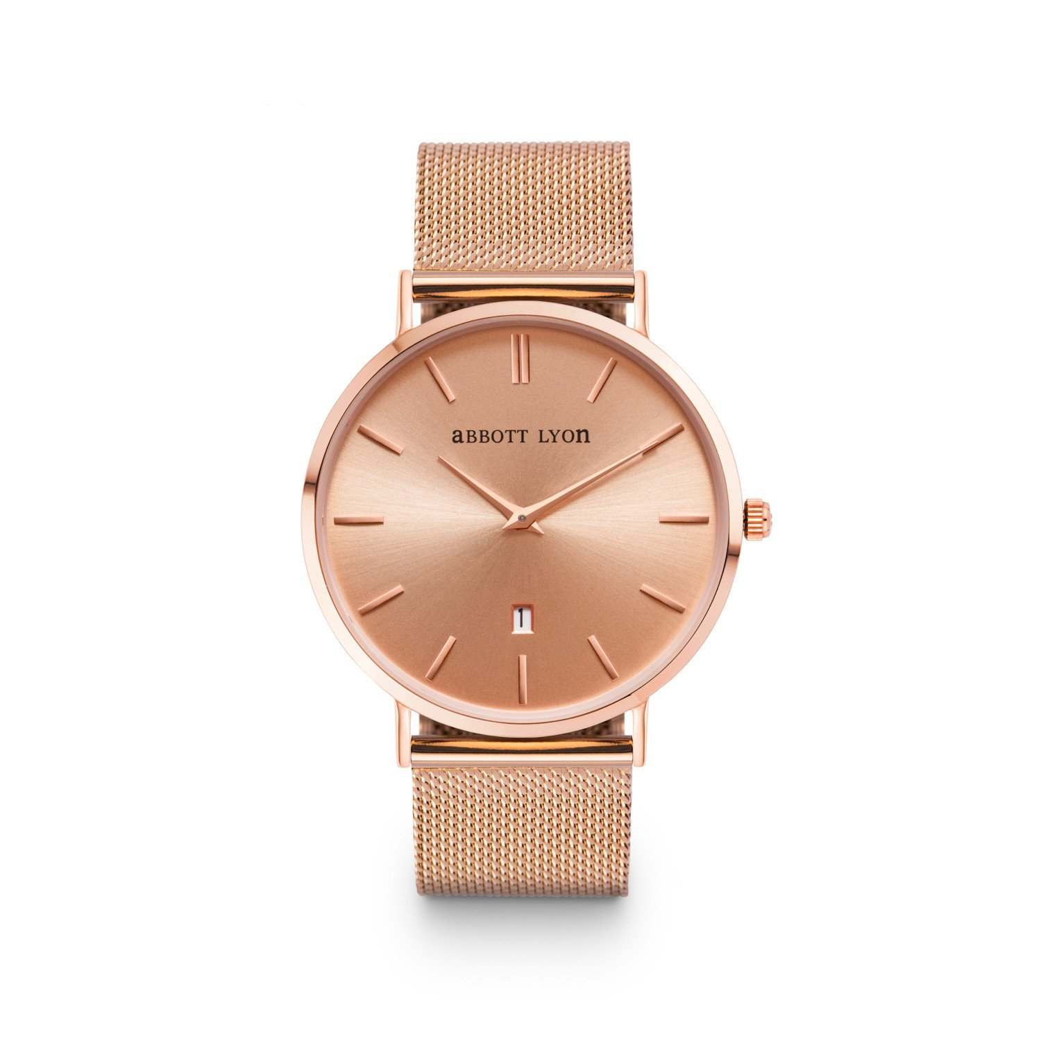 Abbott Lyon Rose Gold Chain Stellar 40 Watch