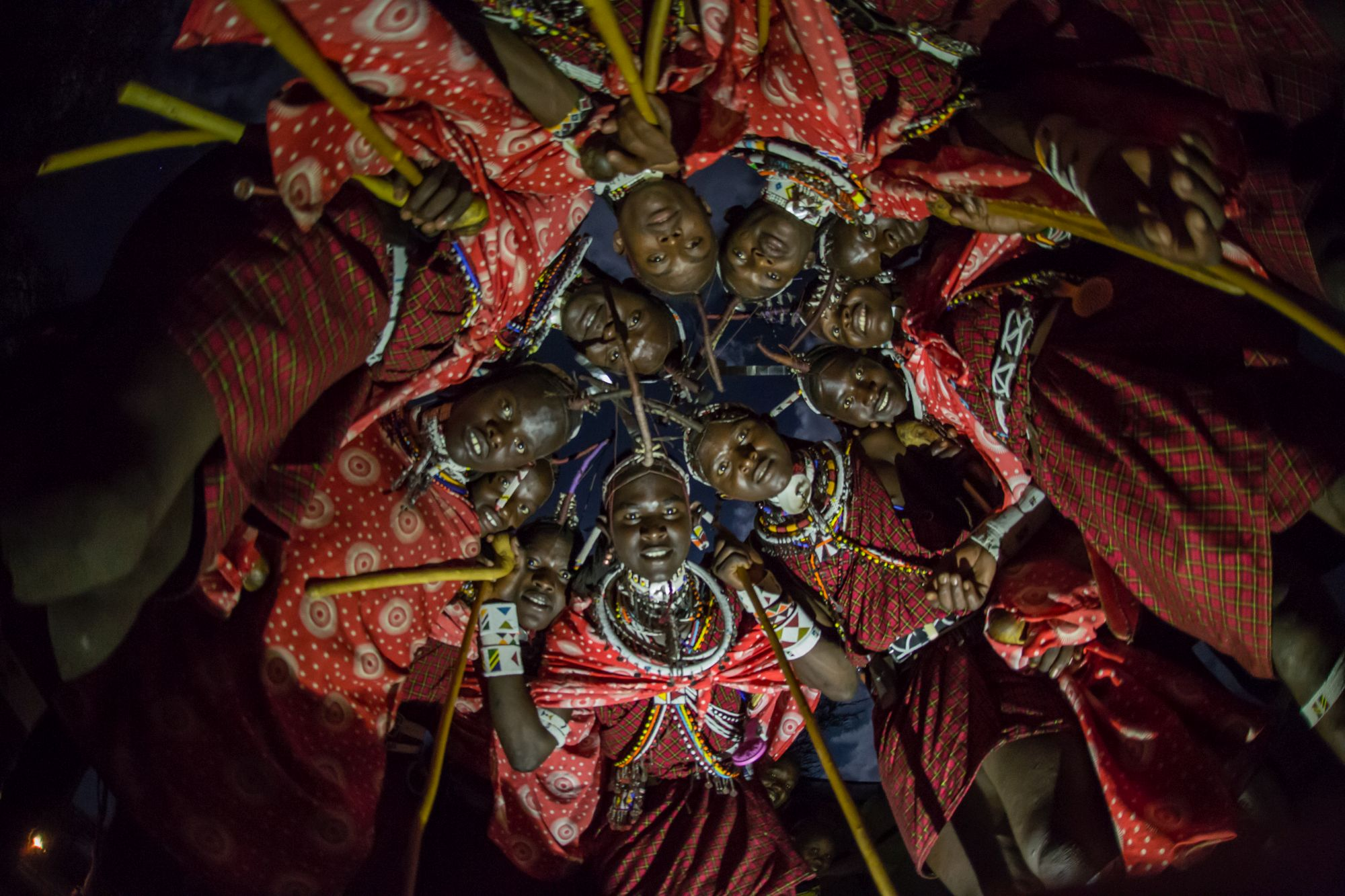 The Maasai morans.
