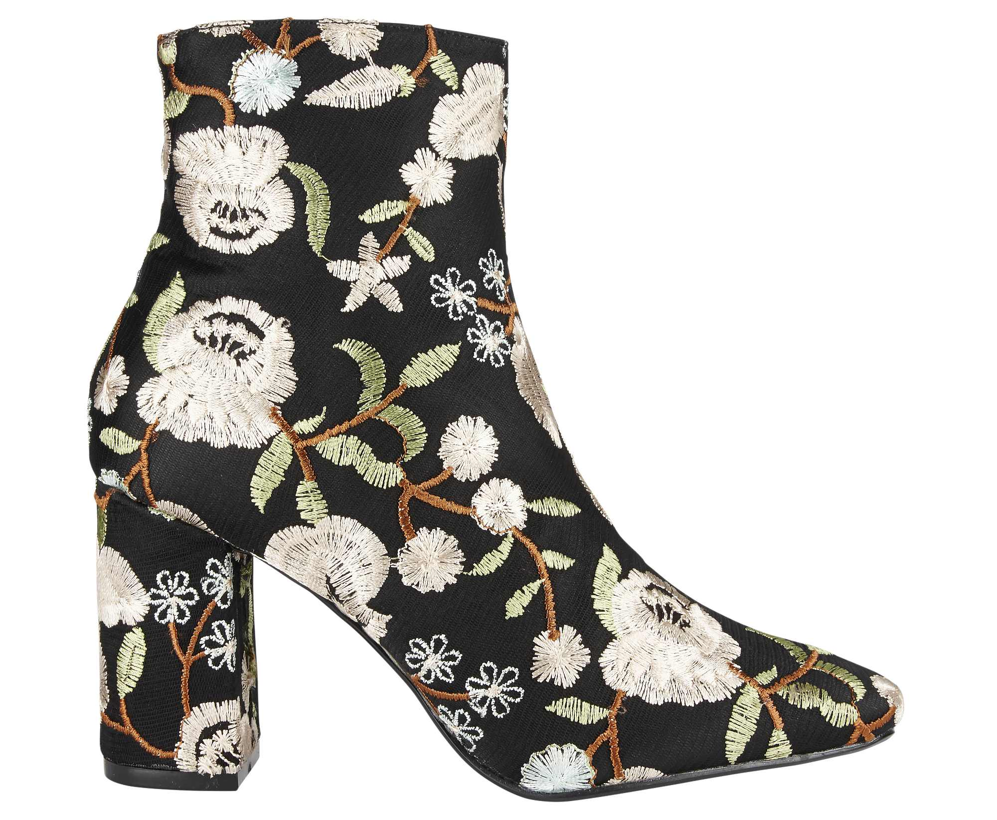 SimplyBe Sole Diva Callie Embroidered Boots