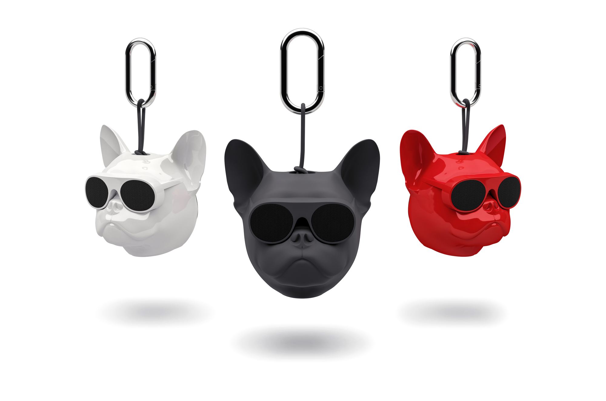 Jarre Aerobull Speakers in red, black and white (Currys PC World/PA)