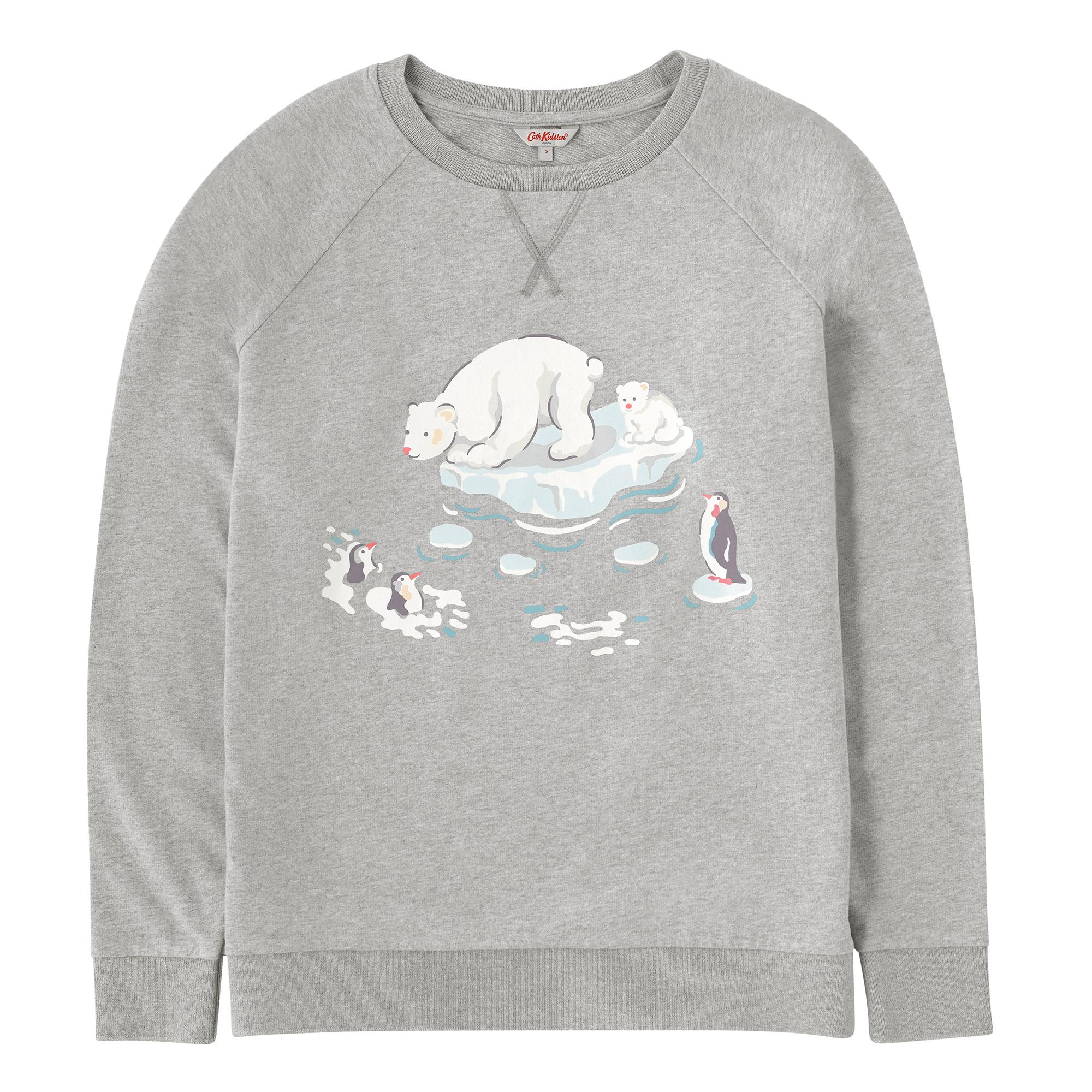 Cath Kidston Polar Bear Cotton Sweatshirt