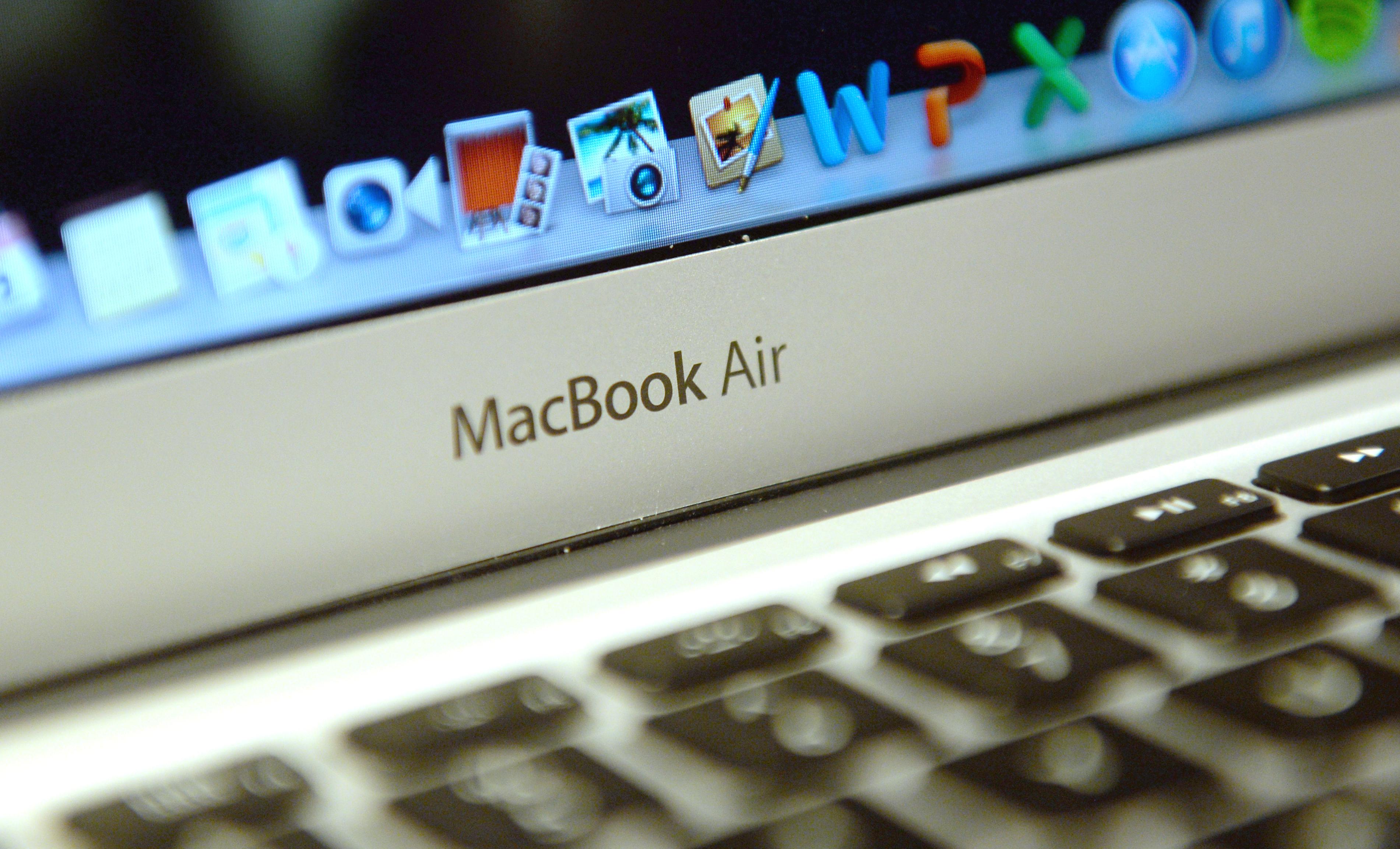 A Mac Book Air