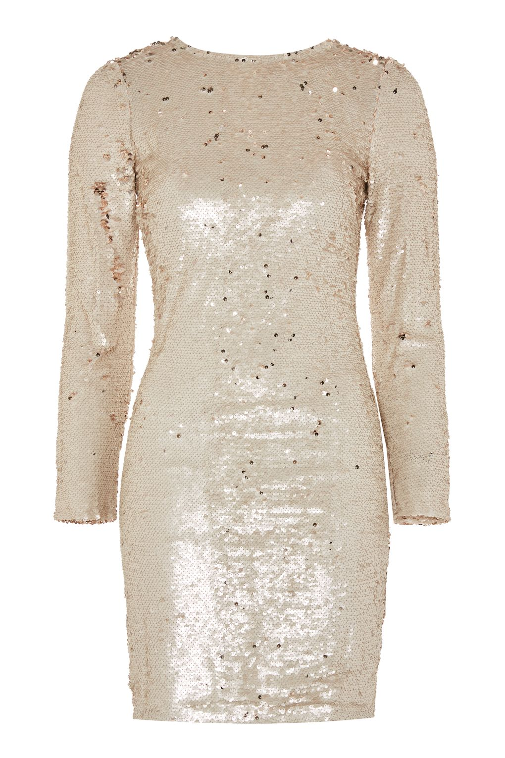 Club L Rose Gold Sequin Mini Bodycon Dress, £50, Topshop
