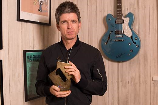 Noel Gallagher's High Flying Birds are in number one spot