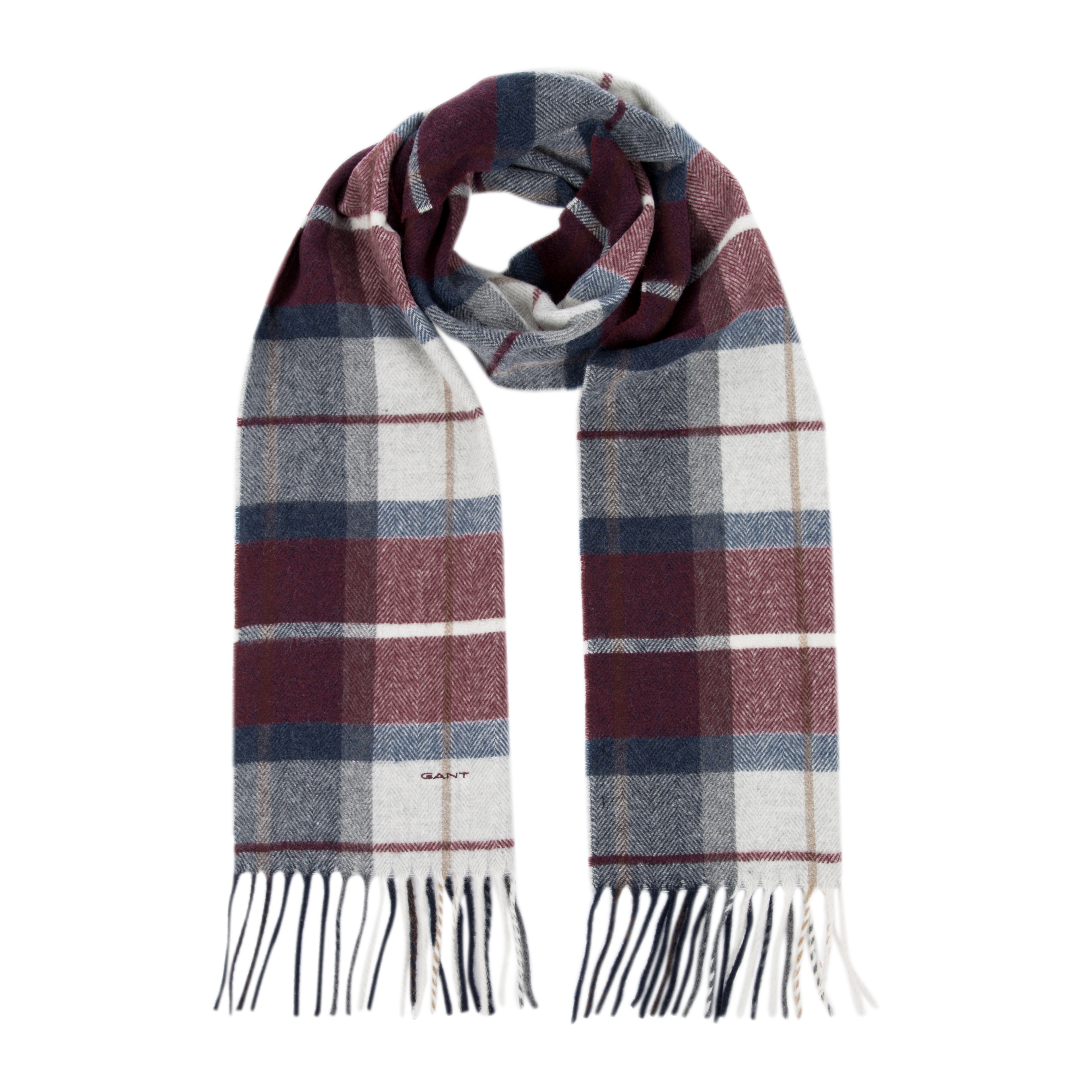 Gant Check Lamswool Scarf