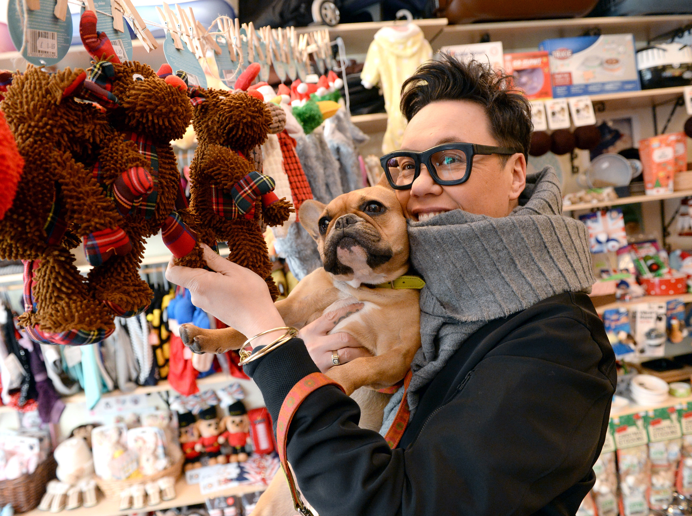 Gok Wan, who's teamed up with American Express to uncover hidden gems and local small businesses. (Doug Peters/PA)