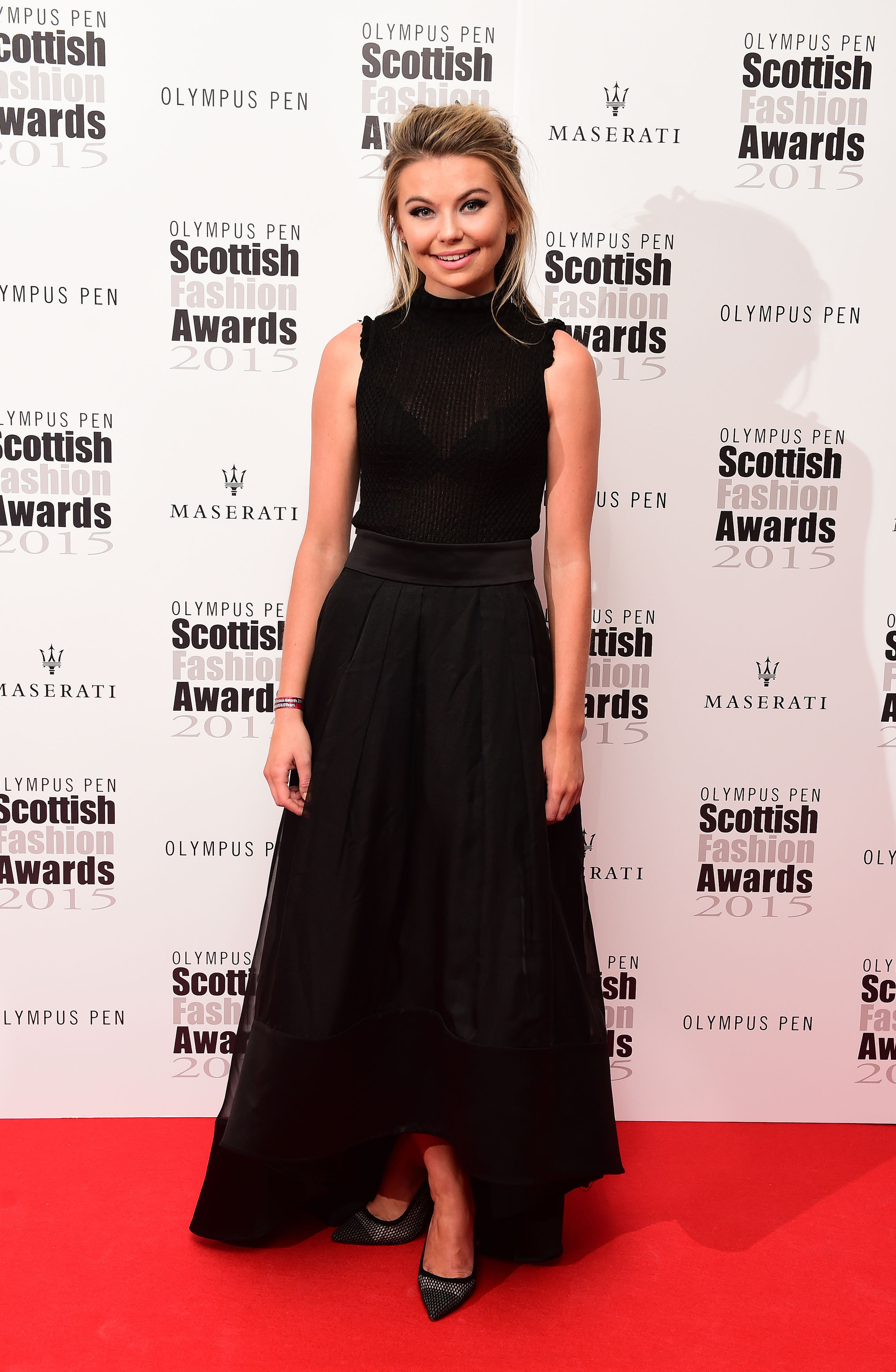 Georgia Toffolo attending the Scottish Fashion Awards at the Corinthia Hotel, London.