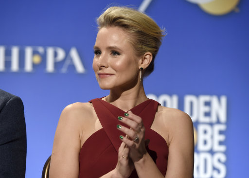 Kristen Bell at the Beverly Hilton