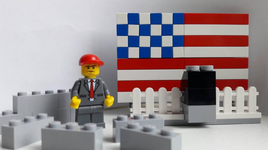 Donald Trump lego set
