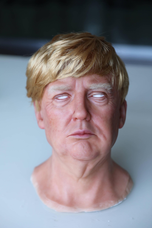 Donald Trump silicone mask
