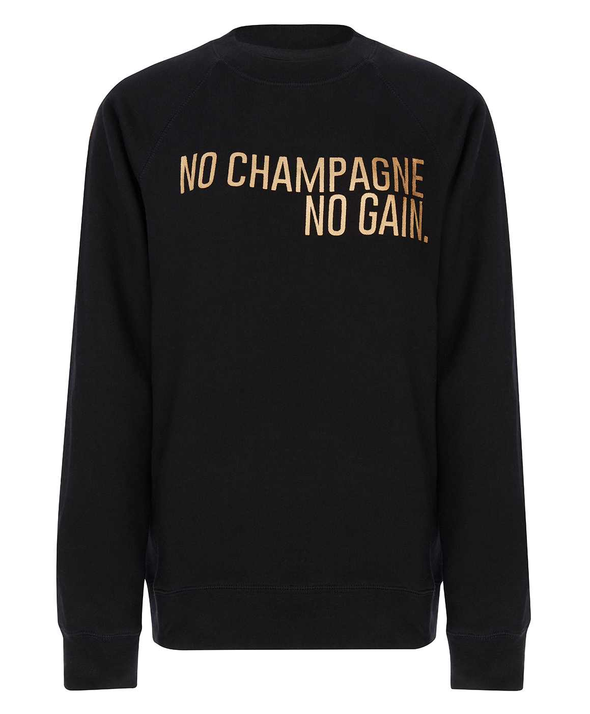 Brunette the Label No Champagne, No Gain Sweatshirt
