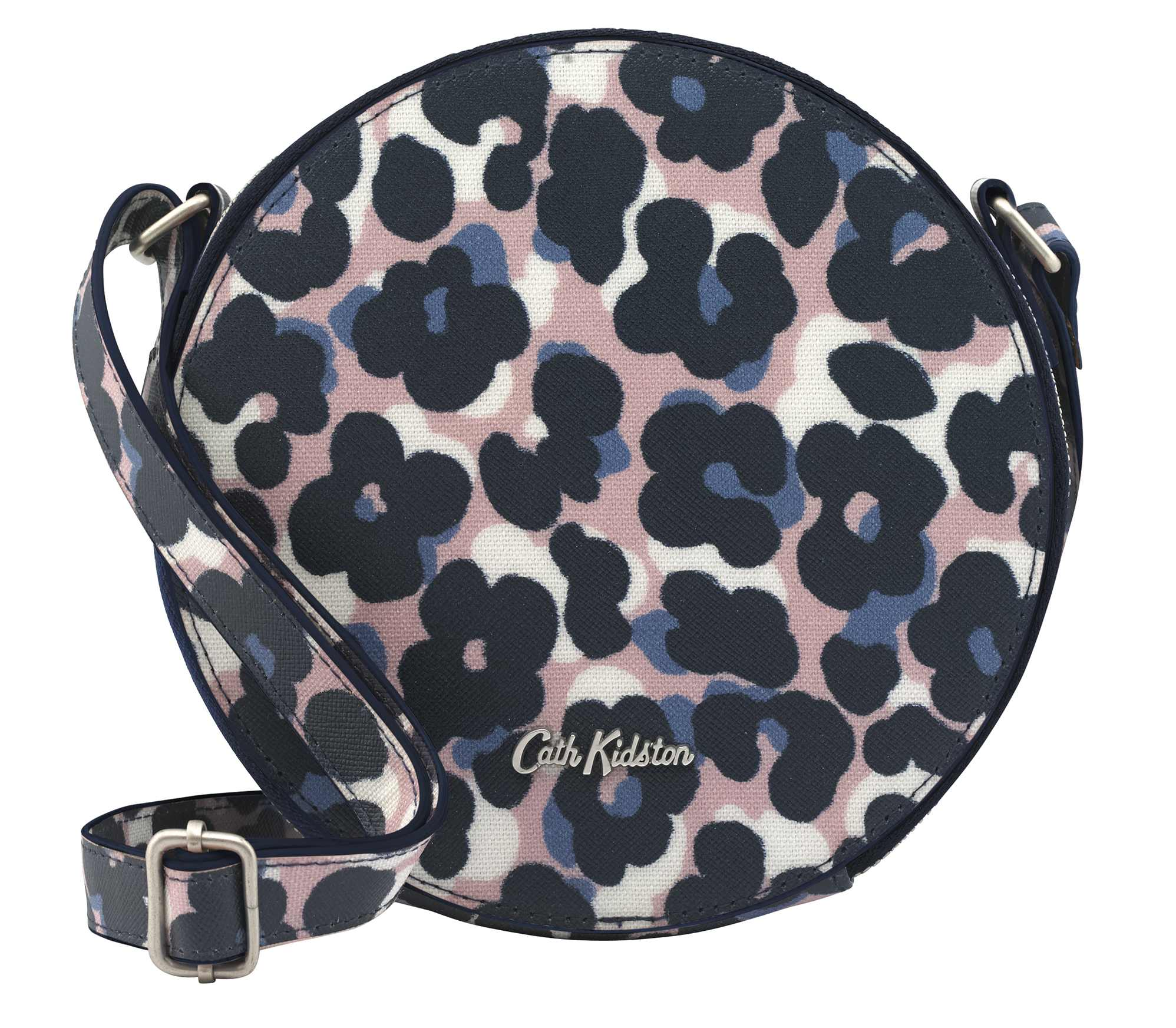 Cath Kidston Leopard Flower Round Cross Body Bag