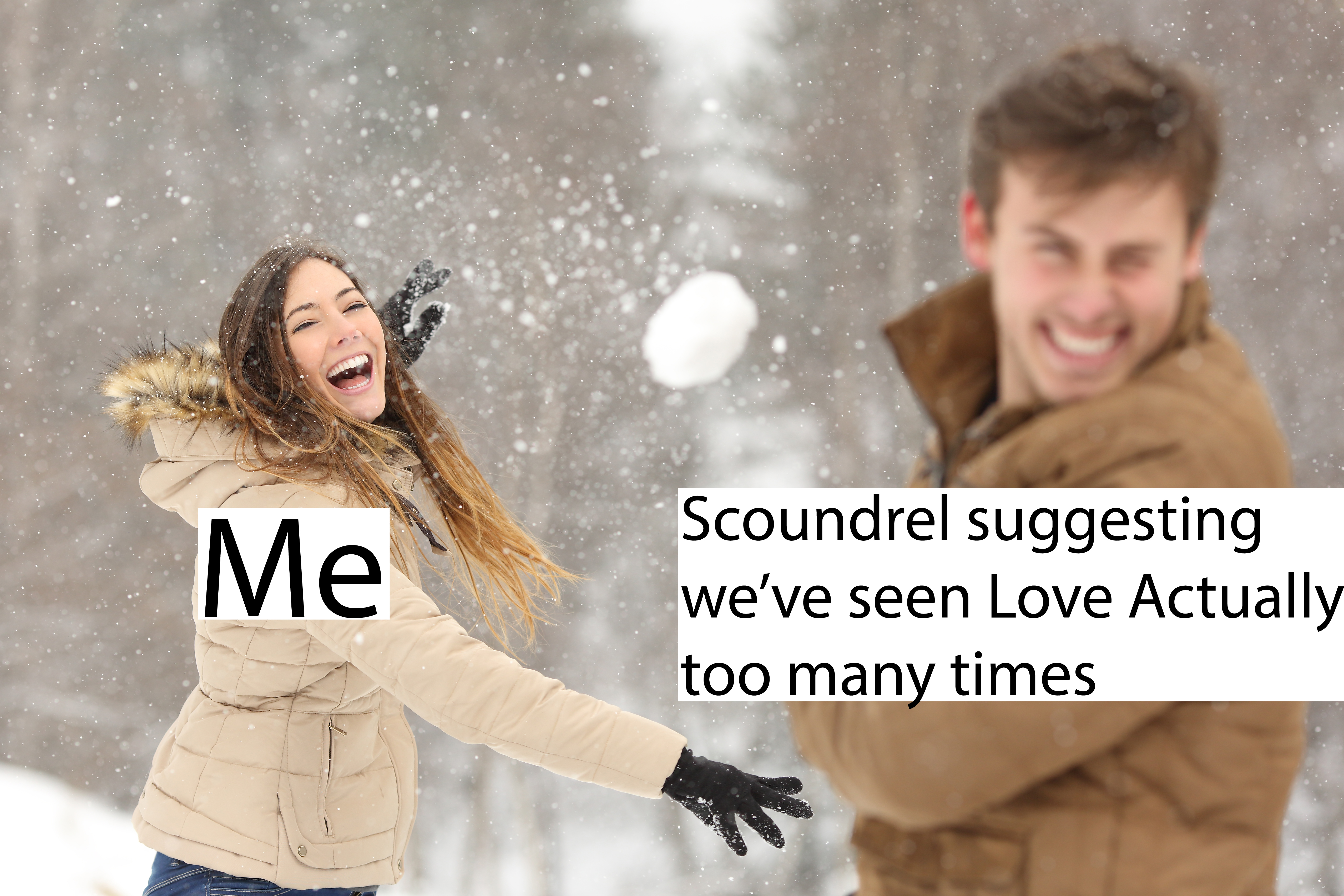 Fun Couple Meme : The 14 memes of christmas as told by 2017's favourite stock couple bt