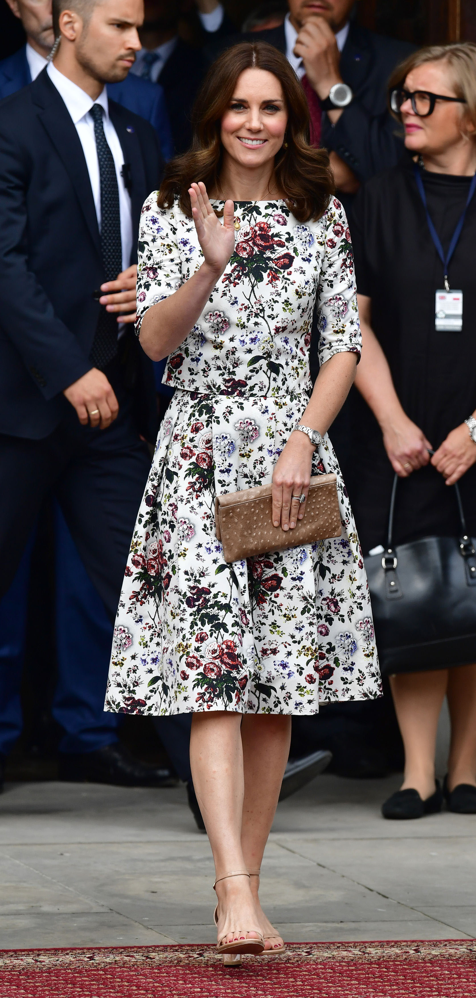 During the Poland Royal tour in July (Dominic Lipinski/PA)