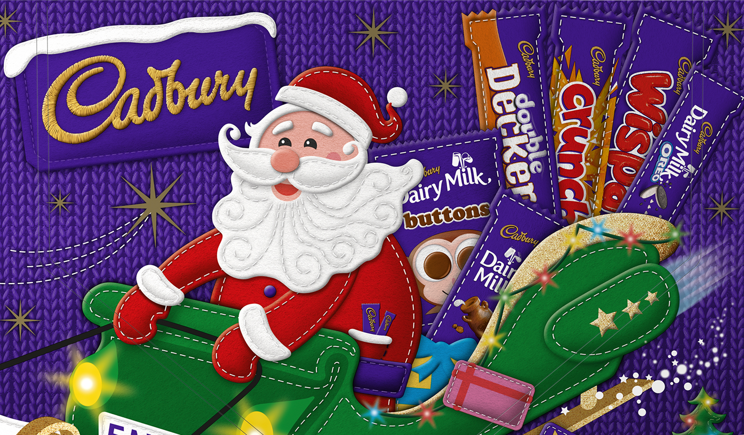 Cadbury selection box.