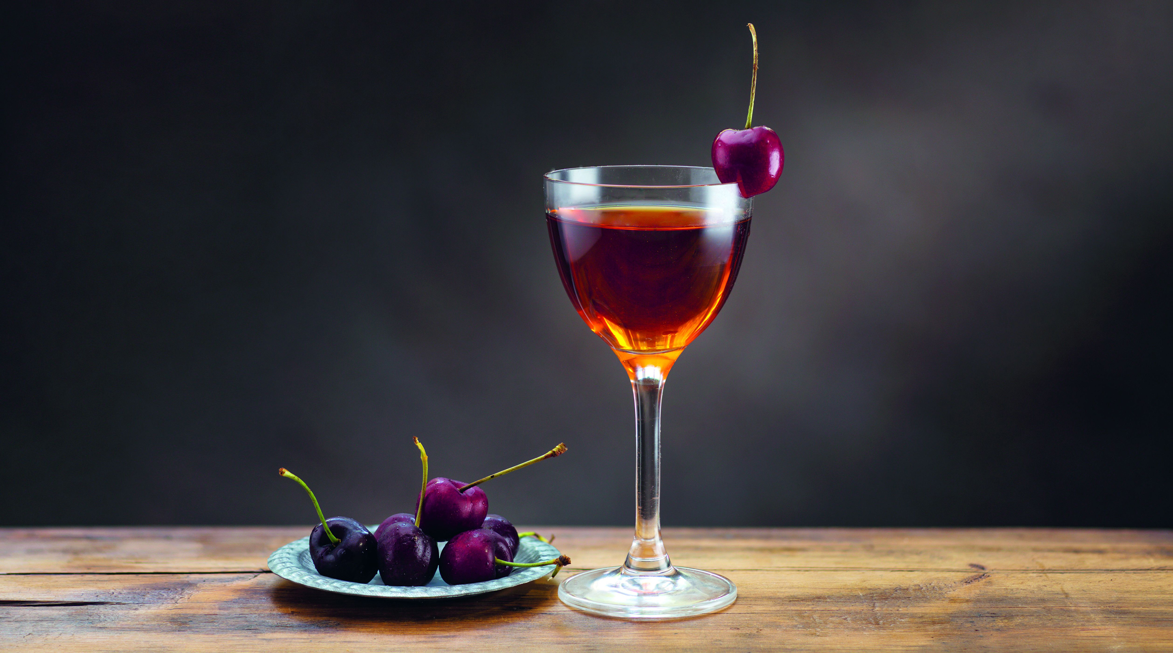 Cherry Popper cocktail from Doctor's Orders (Giles Christopher/PA)