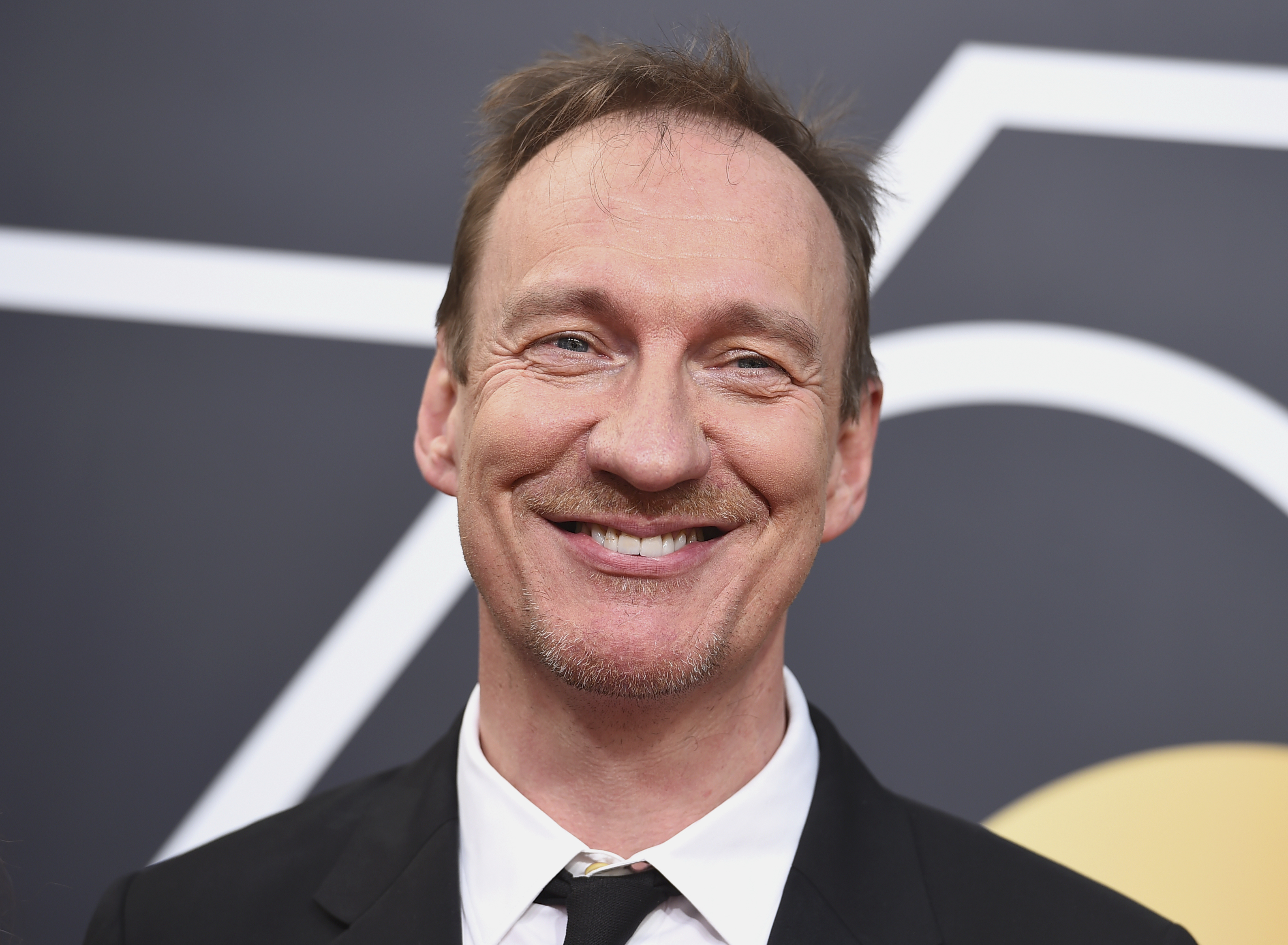 David Thewlis arriving at the ceremony