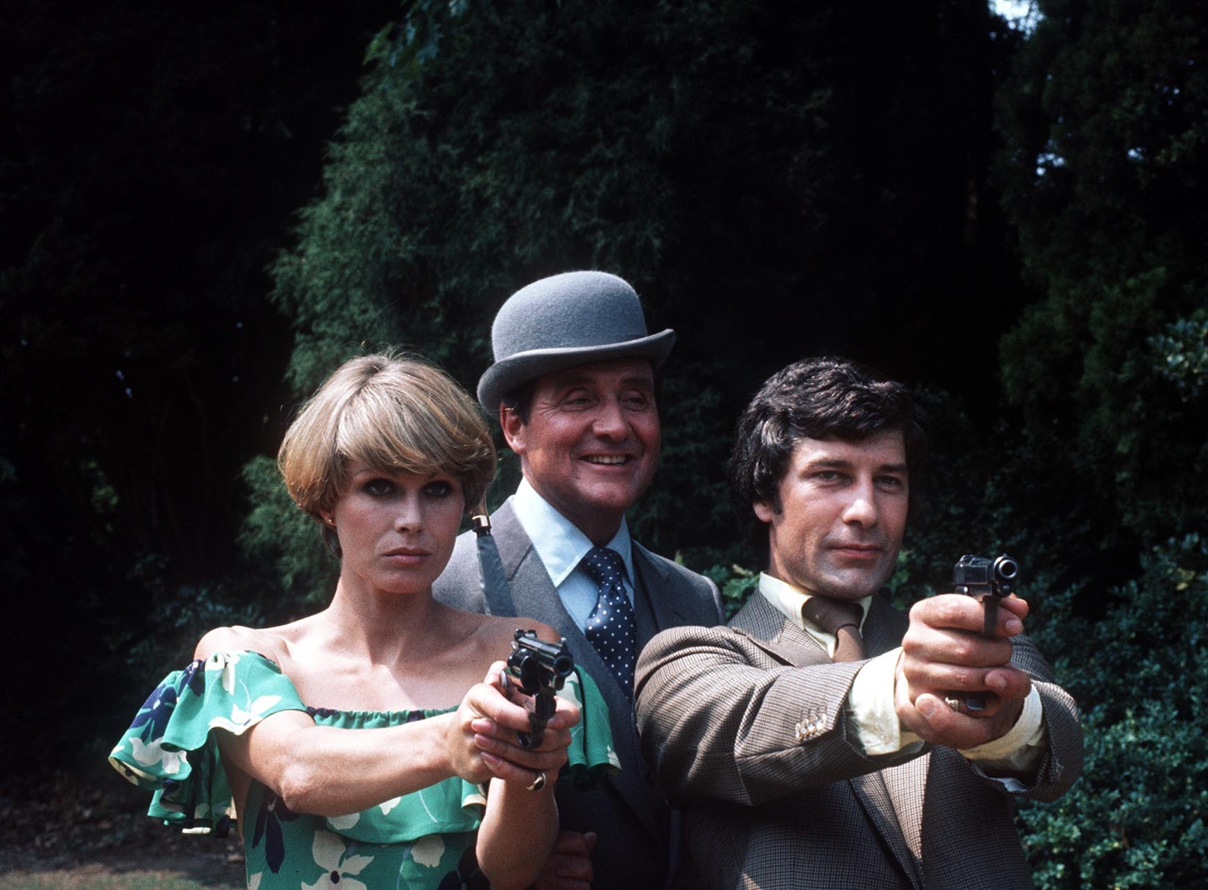 Joanna Lumley as Purdey in The Avengers (PA)