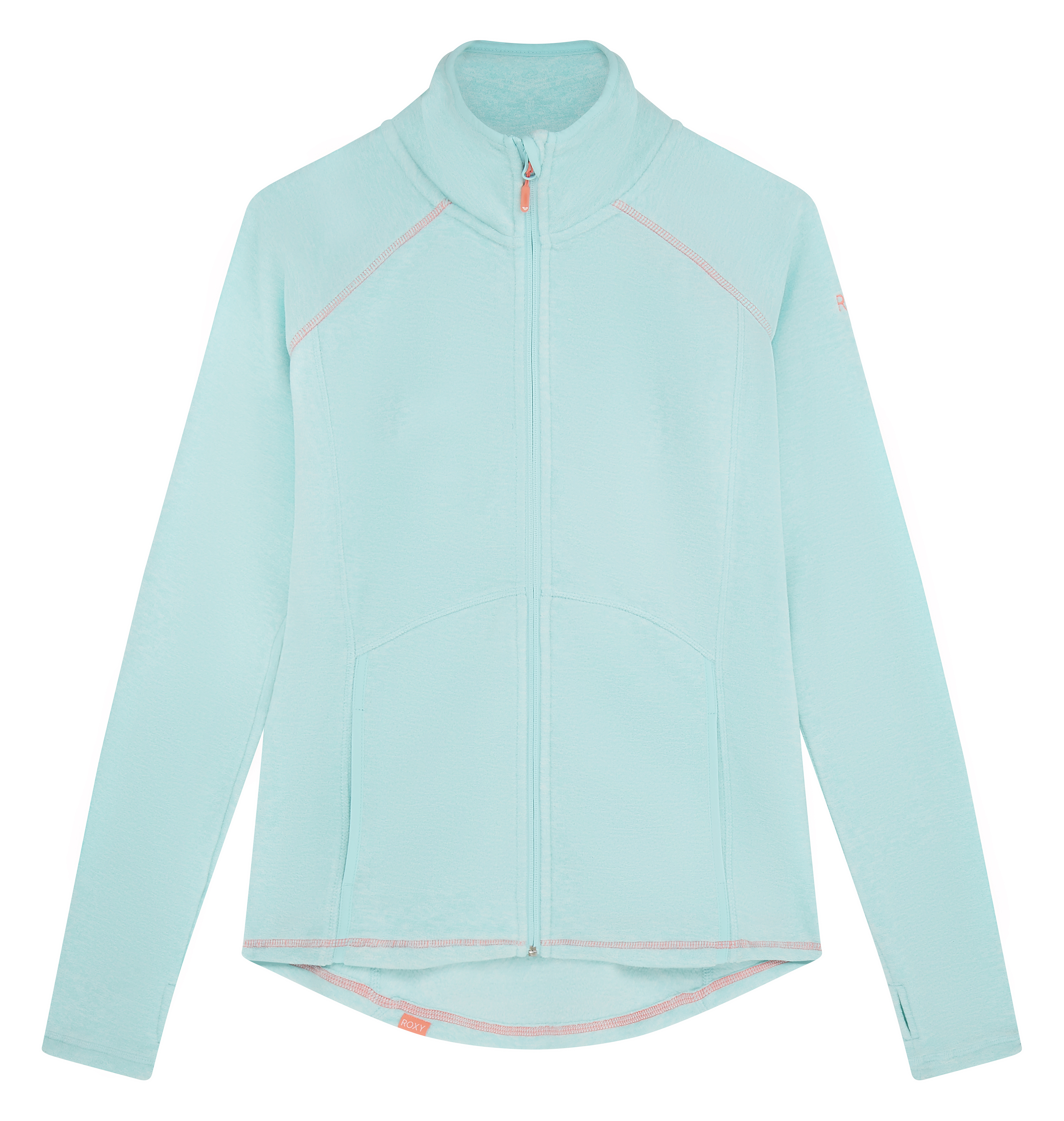 Roxy Harmony Full Zip Fleece in Blue