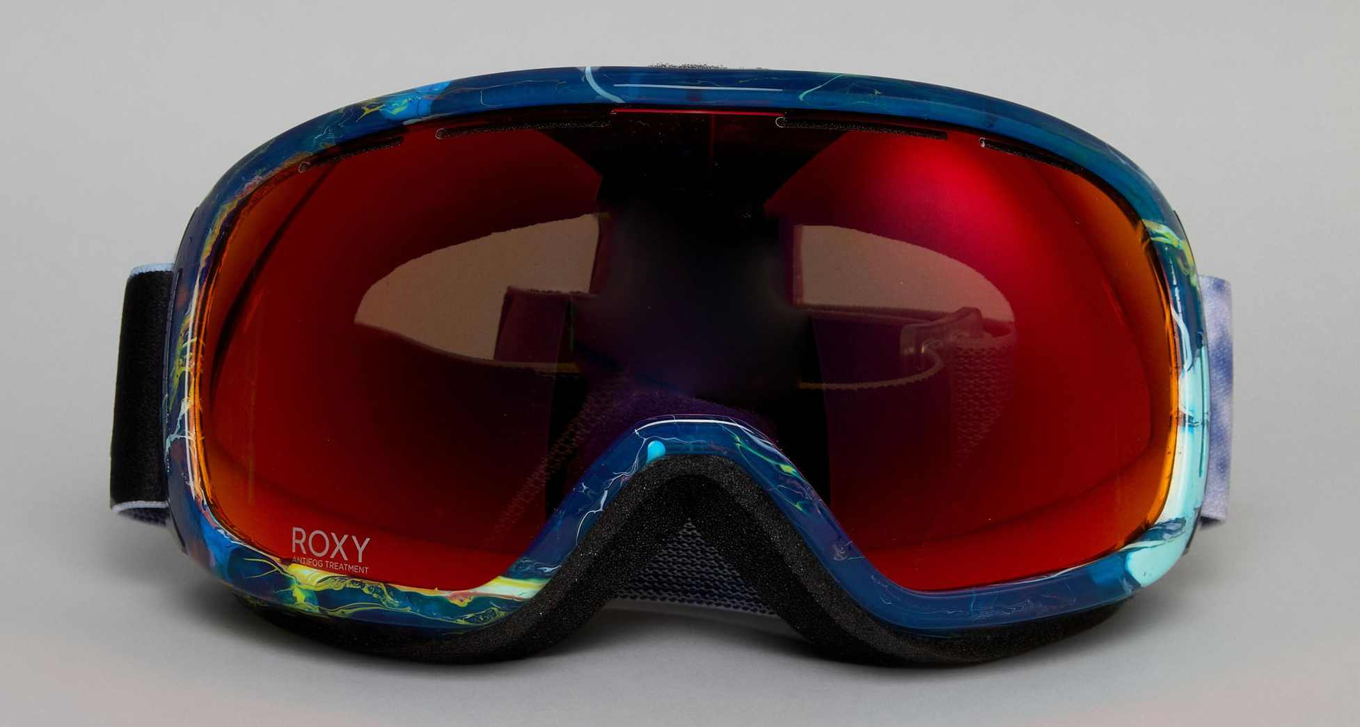 Roxy Women's Rockferry Printed Ski Goggles