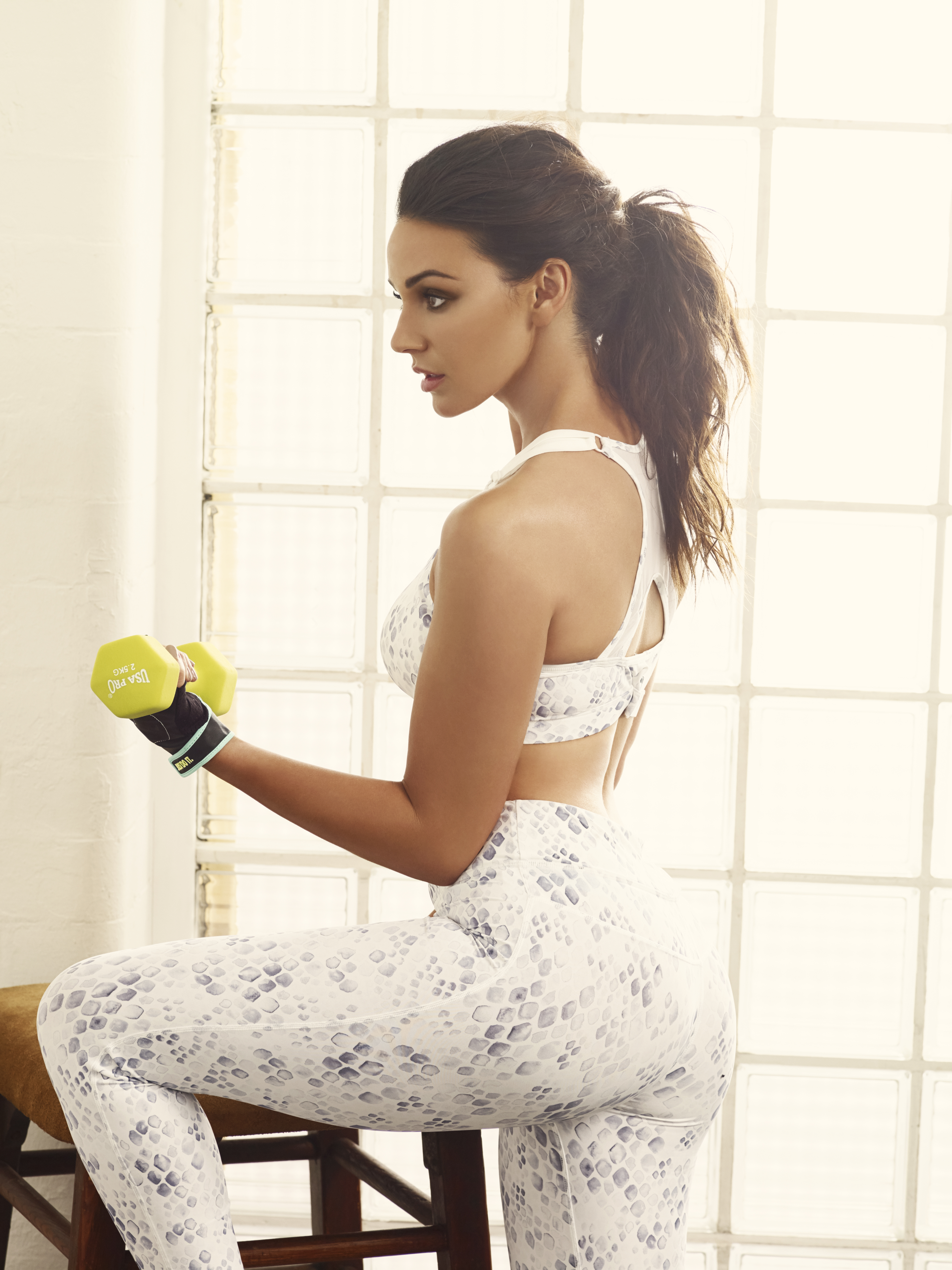 Michelle Keegan reveals the fitness routine responsible ...