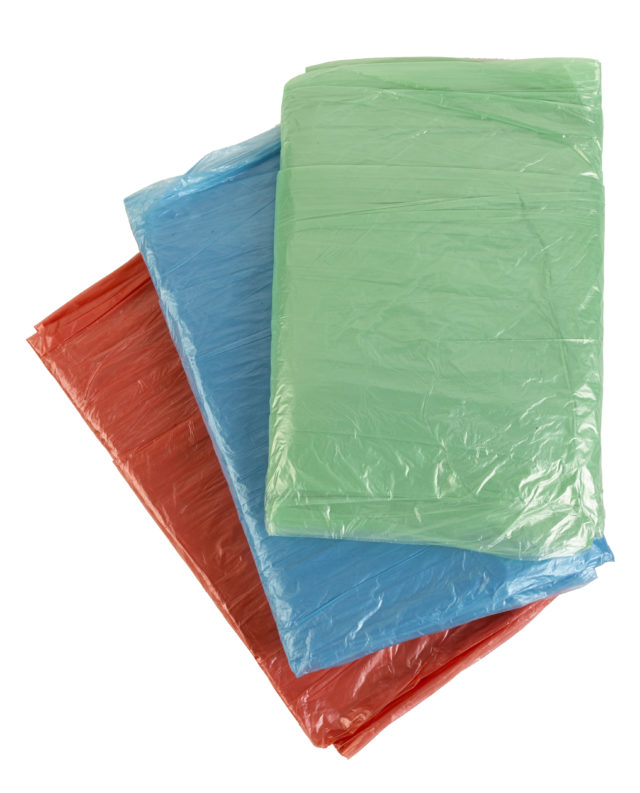 Harris Taskmasters Coloured Polythene Dust Sheets 3 Pack, currently reduced to £2.19 from £3.29, Robert Dyas (Robert Dyas/PA)