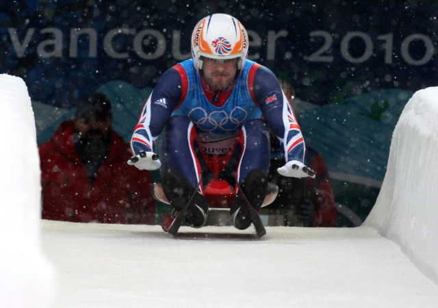 Brit Adam Rosen at the Vancouver Winter Olympics 2010 (Andrew Milligan/PA)