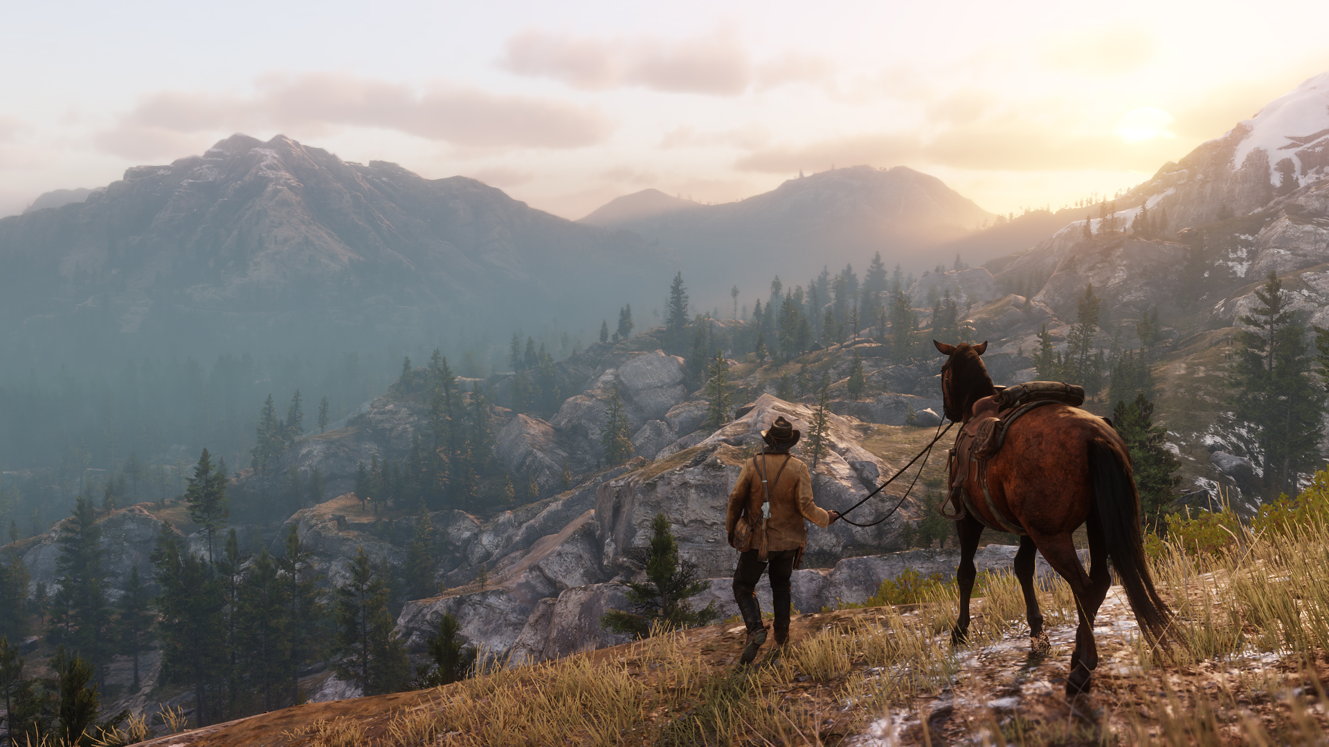 A screenshot from Red Dead Redemption 2