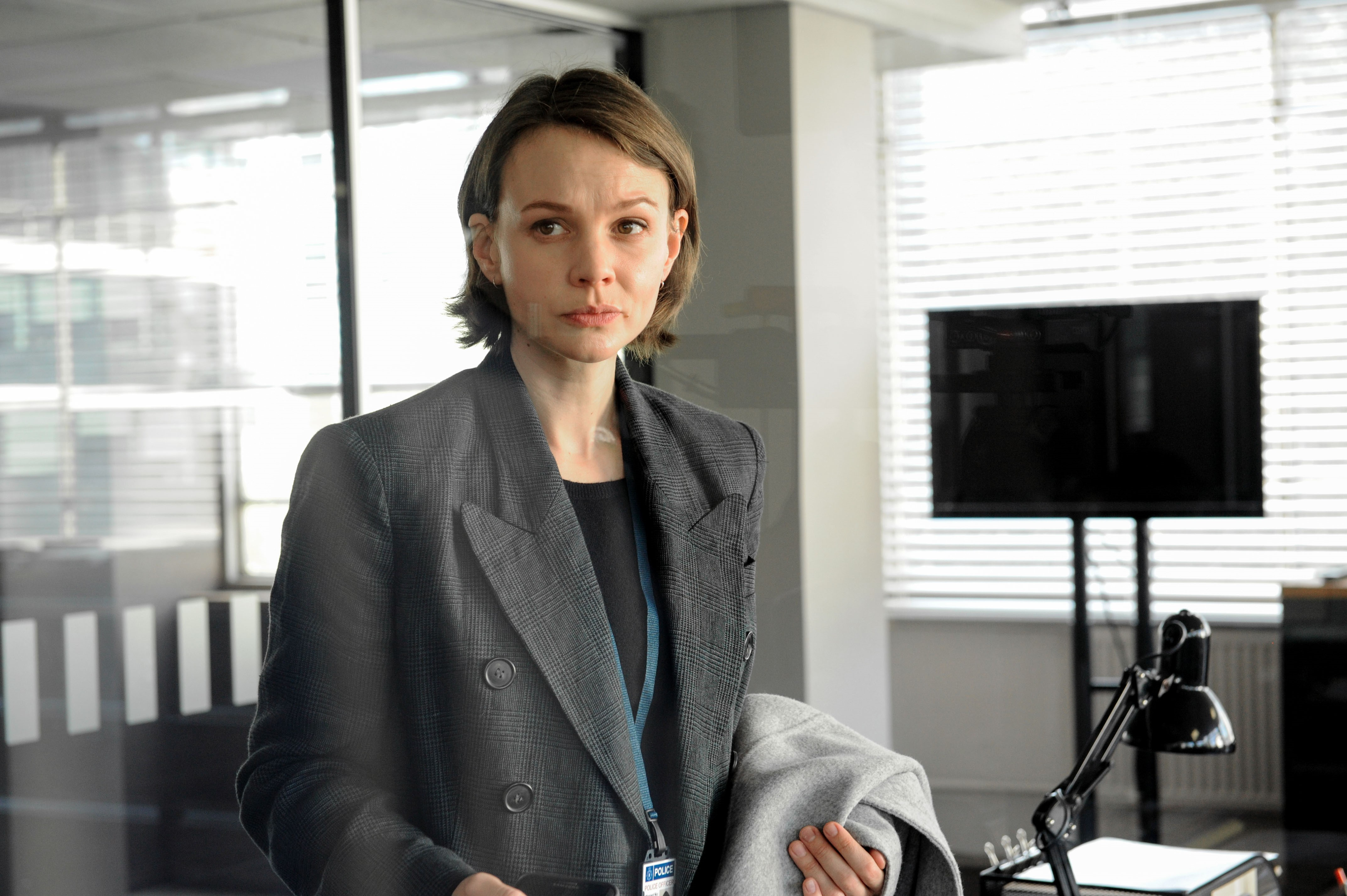 Carey Mulligan in Collateral (Liam Daniel/The Forge/BBC