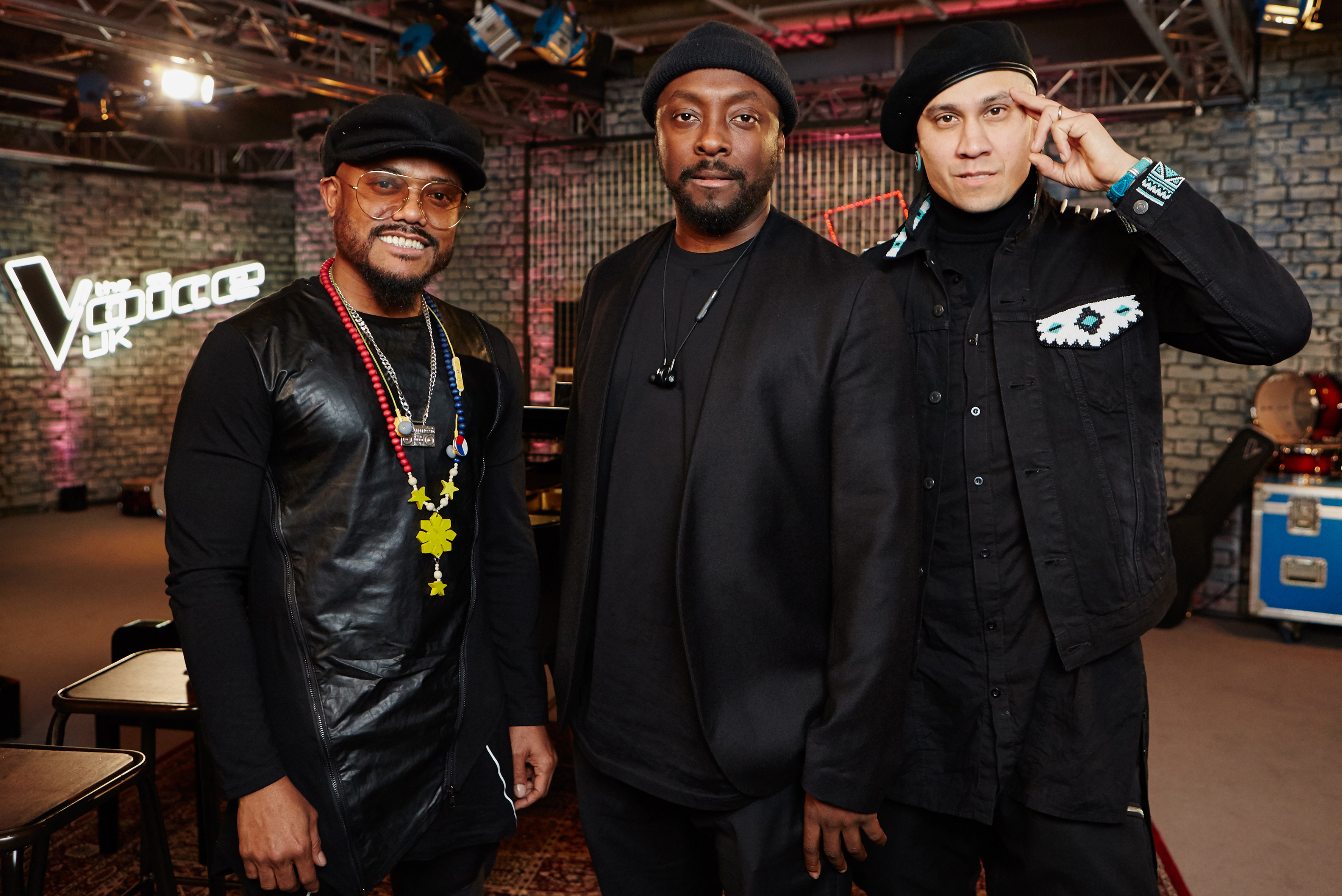 Black Eyed Peas stars apl.de.ap and Taboo with will.i.am (ITV)