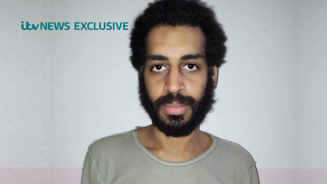 Alexanda Kotey is believed to be one of the Islamic State terrorists dubbed The Beatles (PA Wire / ITV News)