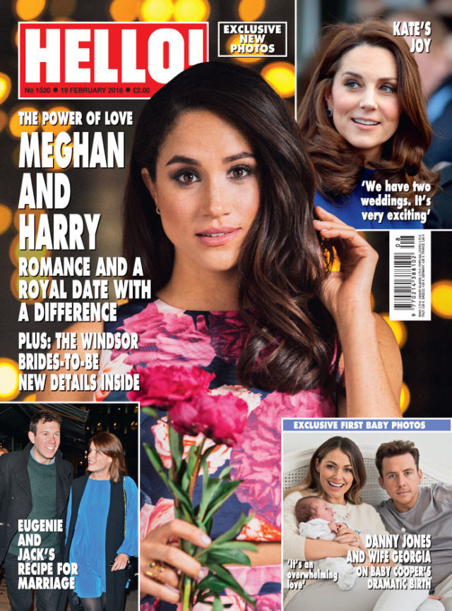 Danny Jones features in the latest edition of Hello! (Hello/PA)
