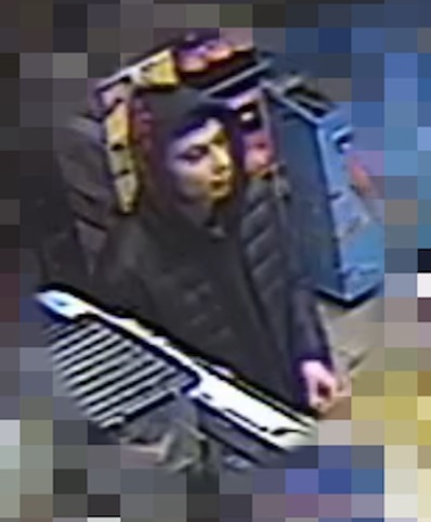 Police are appealing for anybody who recognises the man to come forward
