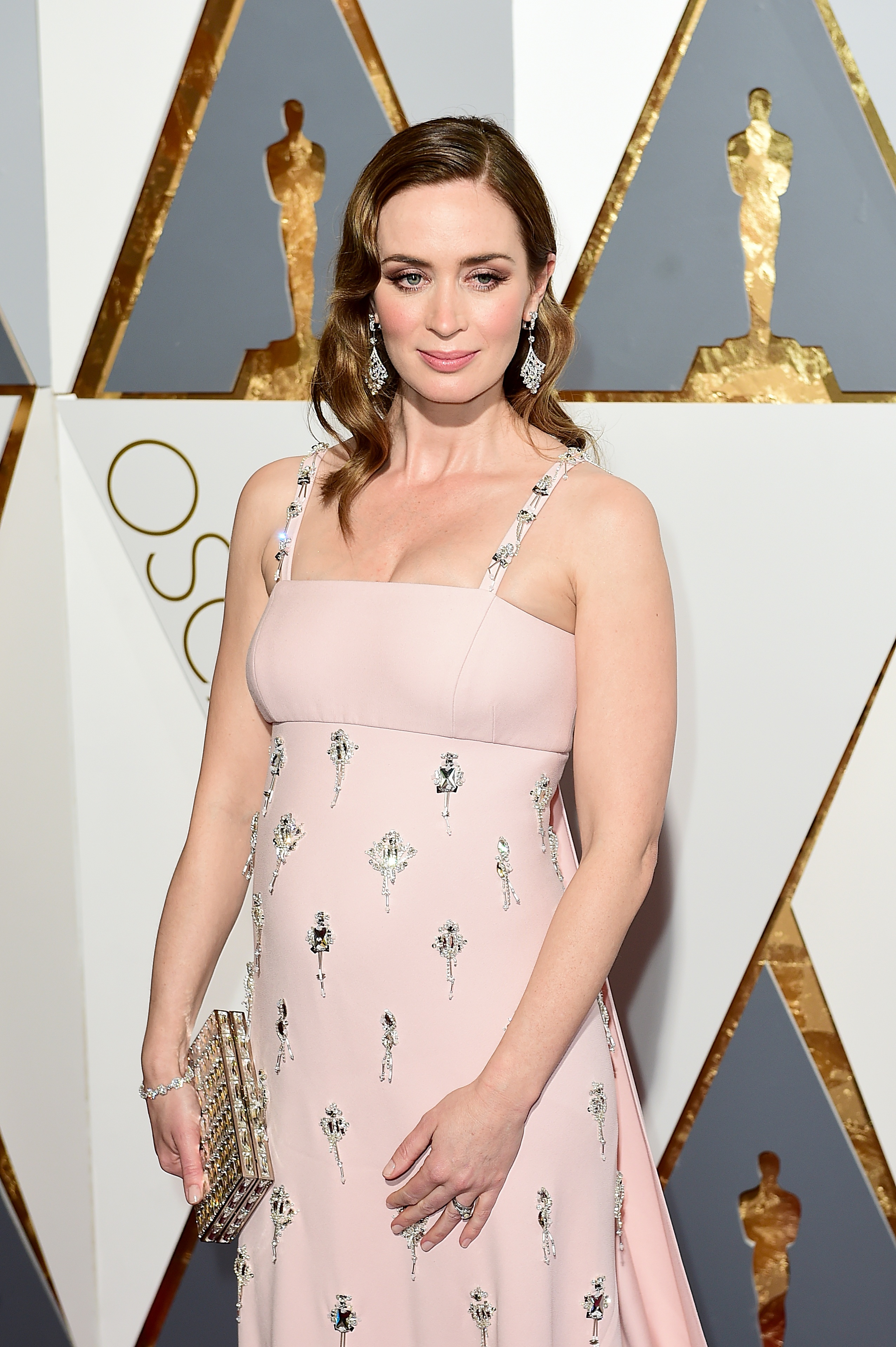 Emily Blunt at the Academy Awards