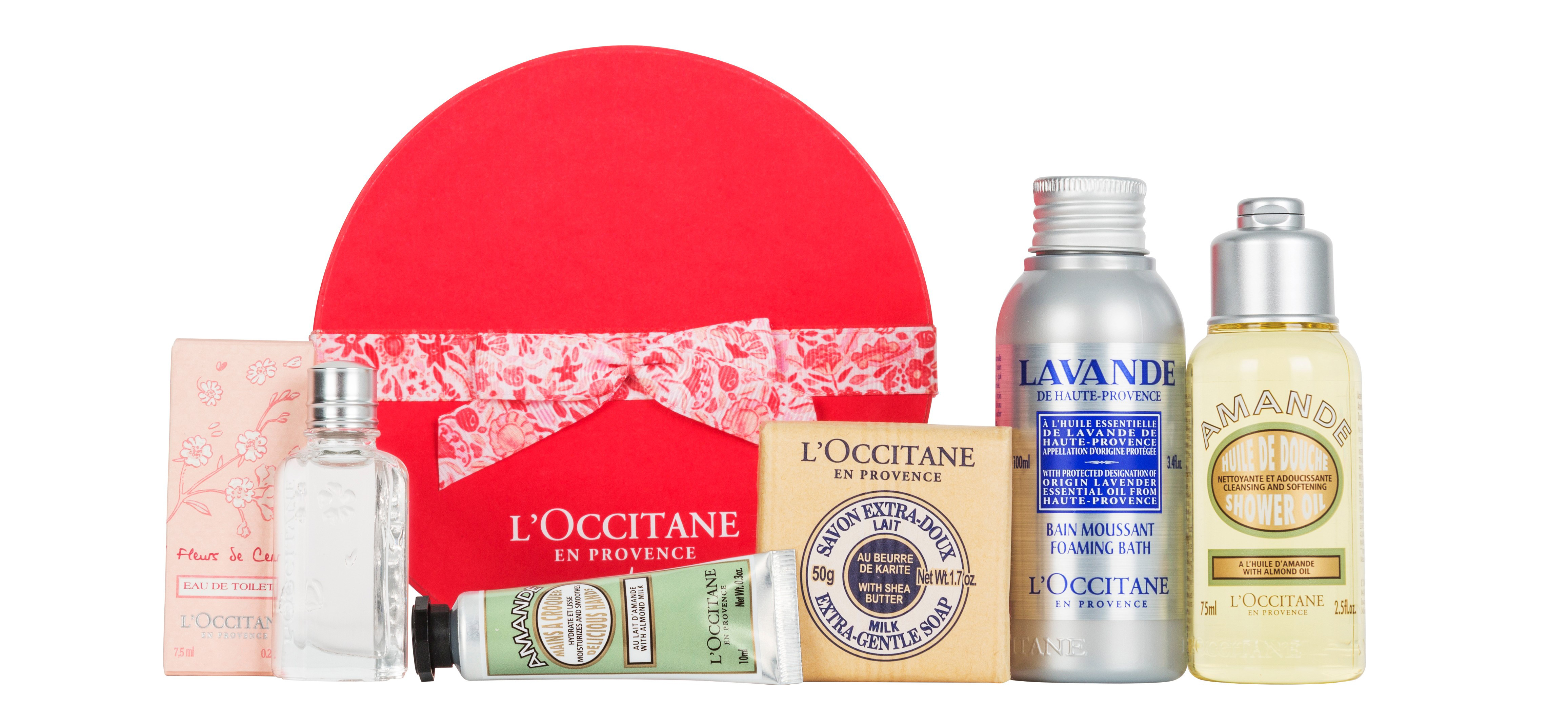 L'Occitaine Delightful Blossoms From Provence Gift Set,