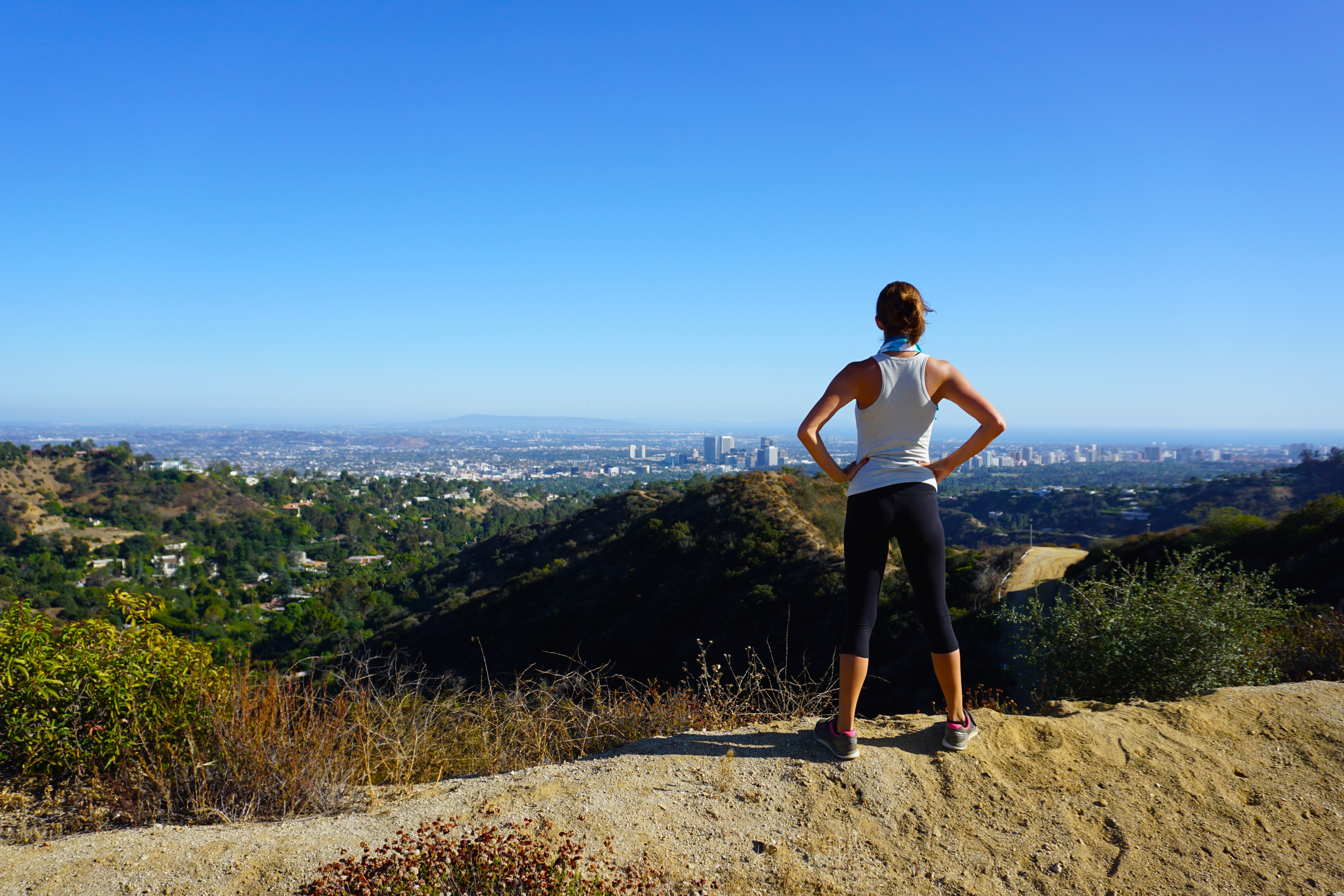 Hiking trail in Franklin Canyon, Beverly Hills (Thinkstock/PA)