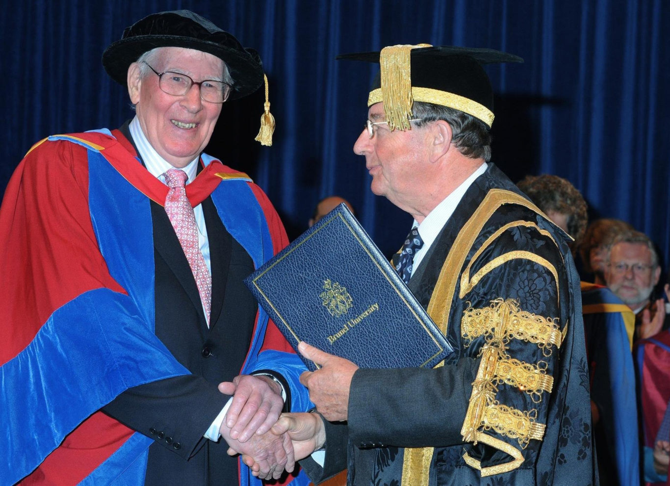 Sir Roger received an honorary degree of Doctor of the University from Brunel University (Brunel University/PA)