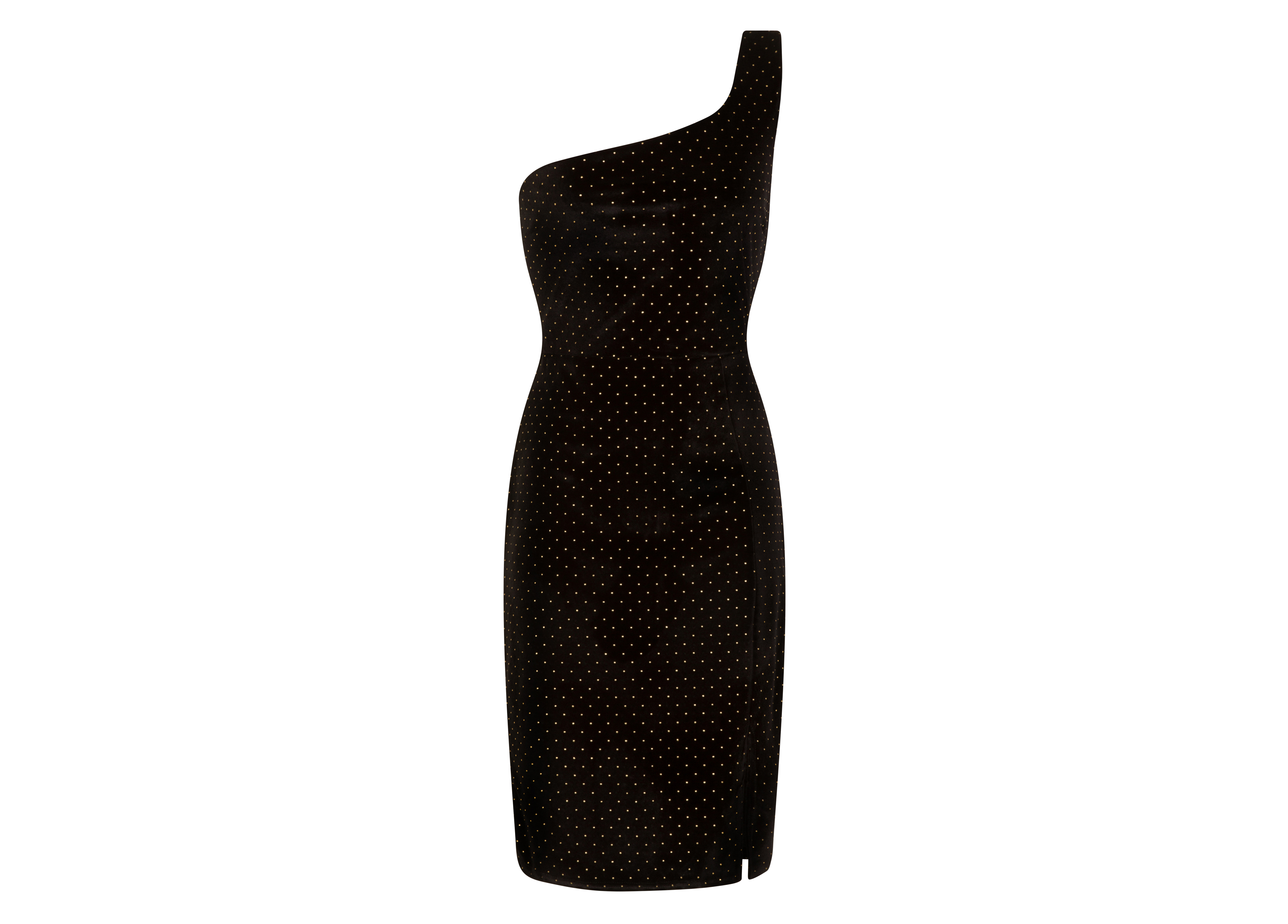 Little Mistress Outrageous Fortune Black Stud Dress
