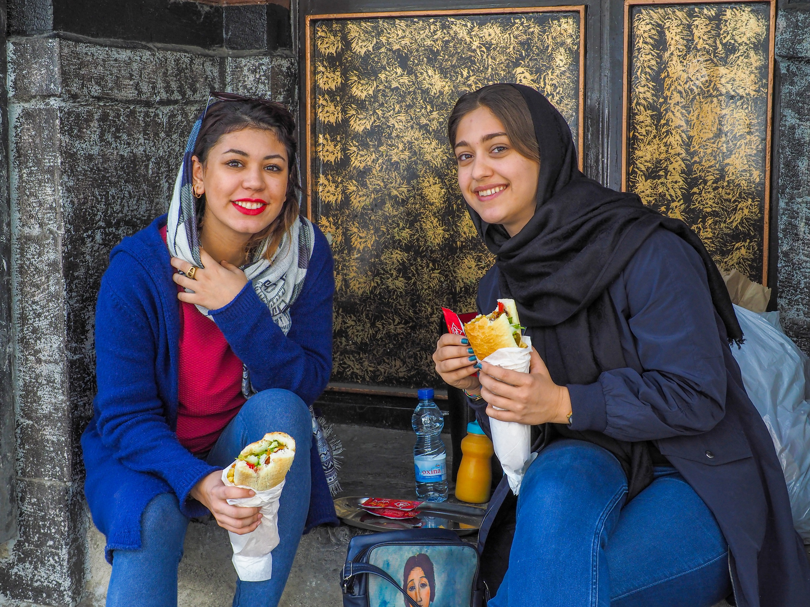 Young Iranian women (Intrepid/PA)