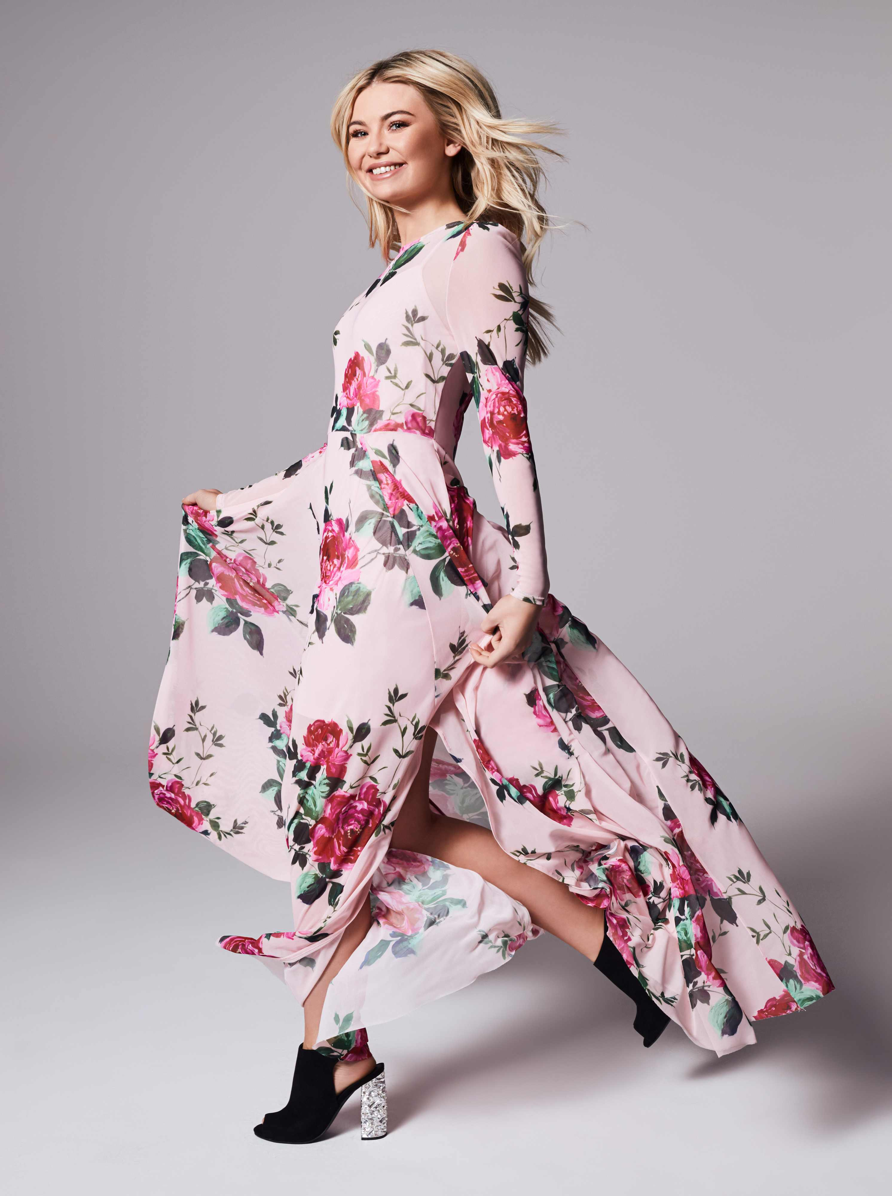 georgia 'toff' toffolo in the very spring fashion campaign
