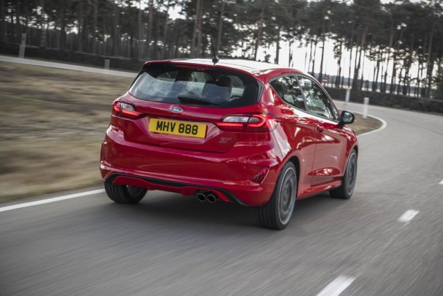 Here's what we learned riding in the new Ford Fiesta ST