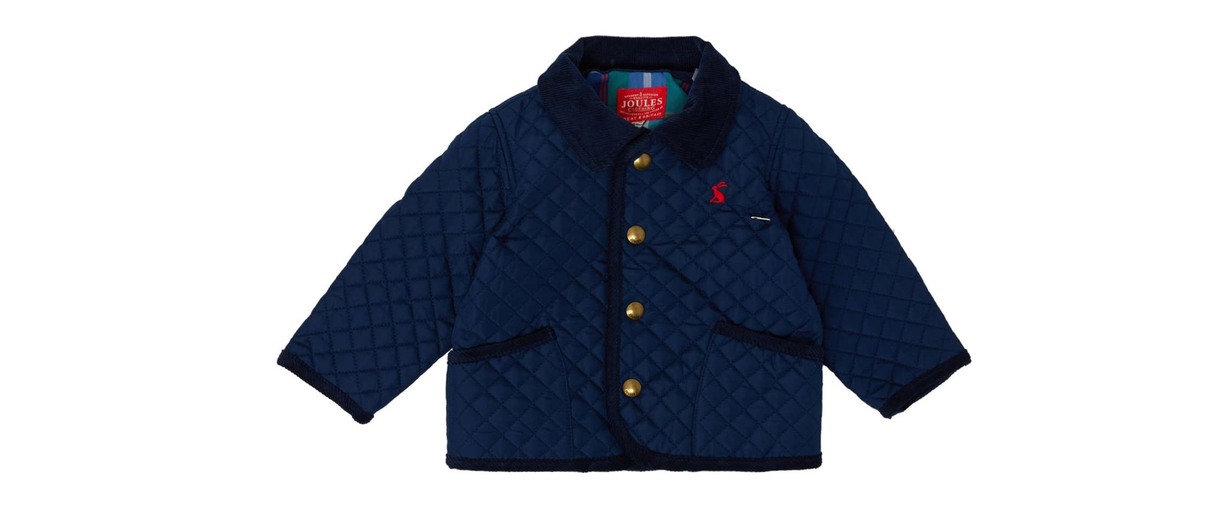 Joules Baby Boy Popper Front Coat