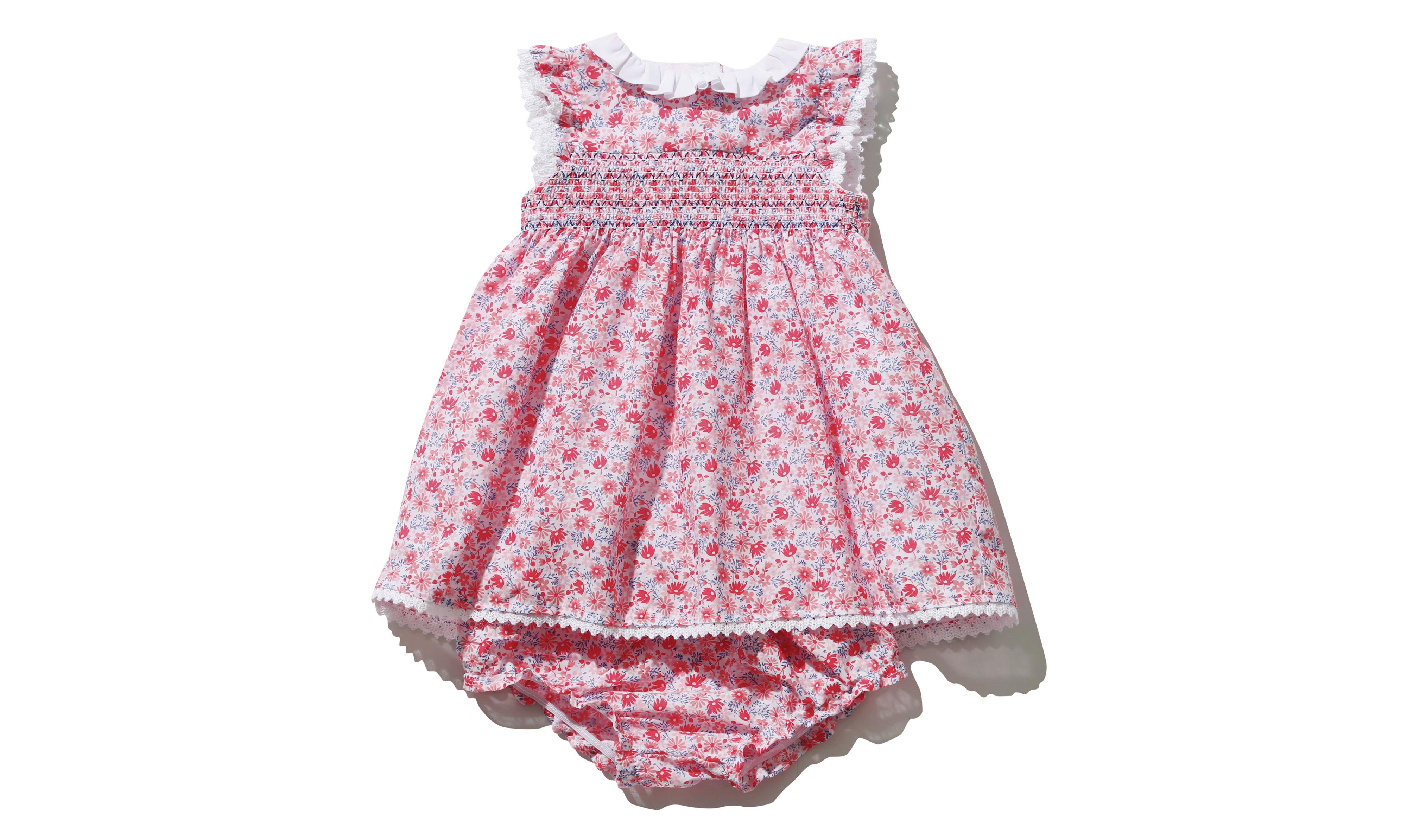 M&Co Floral Print Smock Dress
